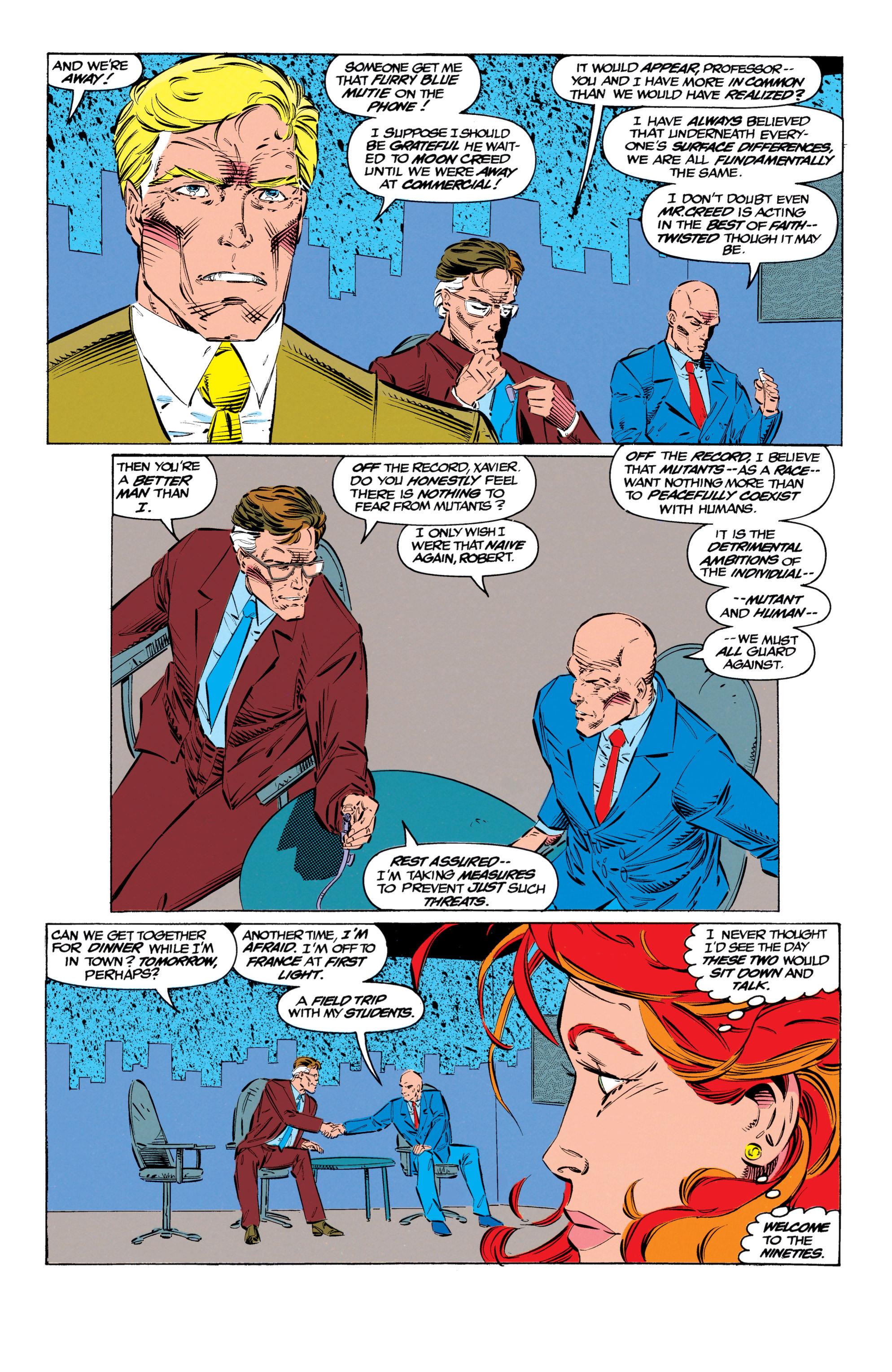 Read online Uncanny X-Men (1963) comic -  Issue #299 - 21