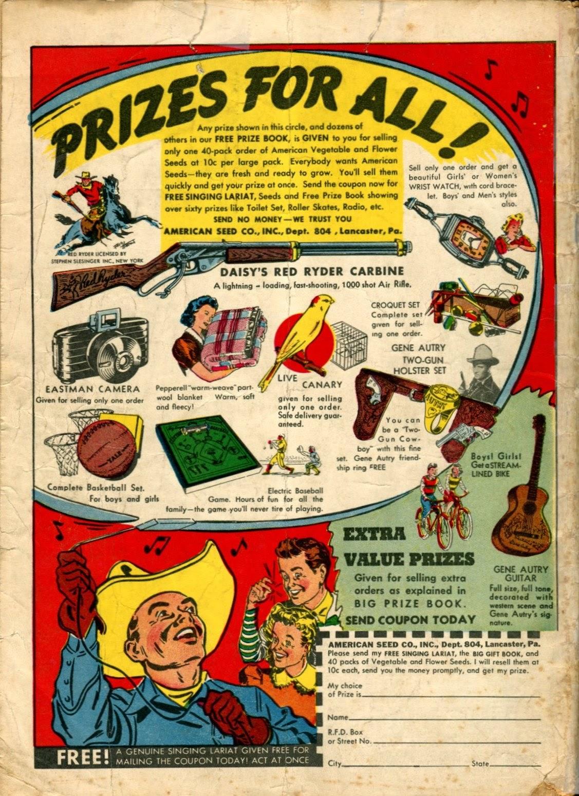 Read online Super-Magician Comics comic -  Issue #5 - 67