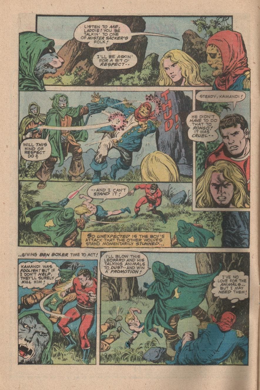 Kamandi, The Last Boy On Earth issue 47 - Page 4