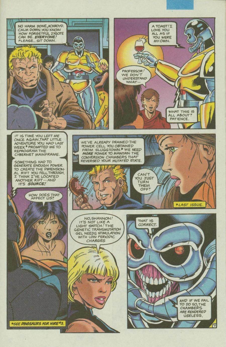 Read online Ex-Mutants comic -  Issue #4 - 8