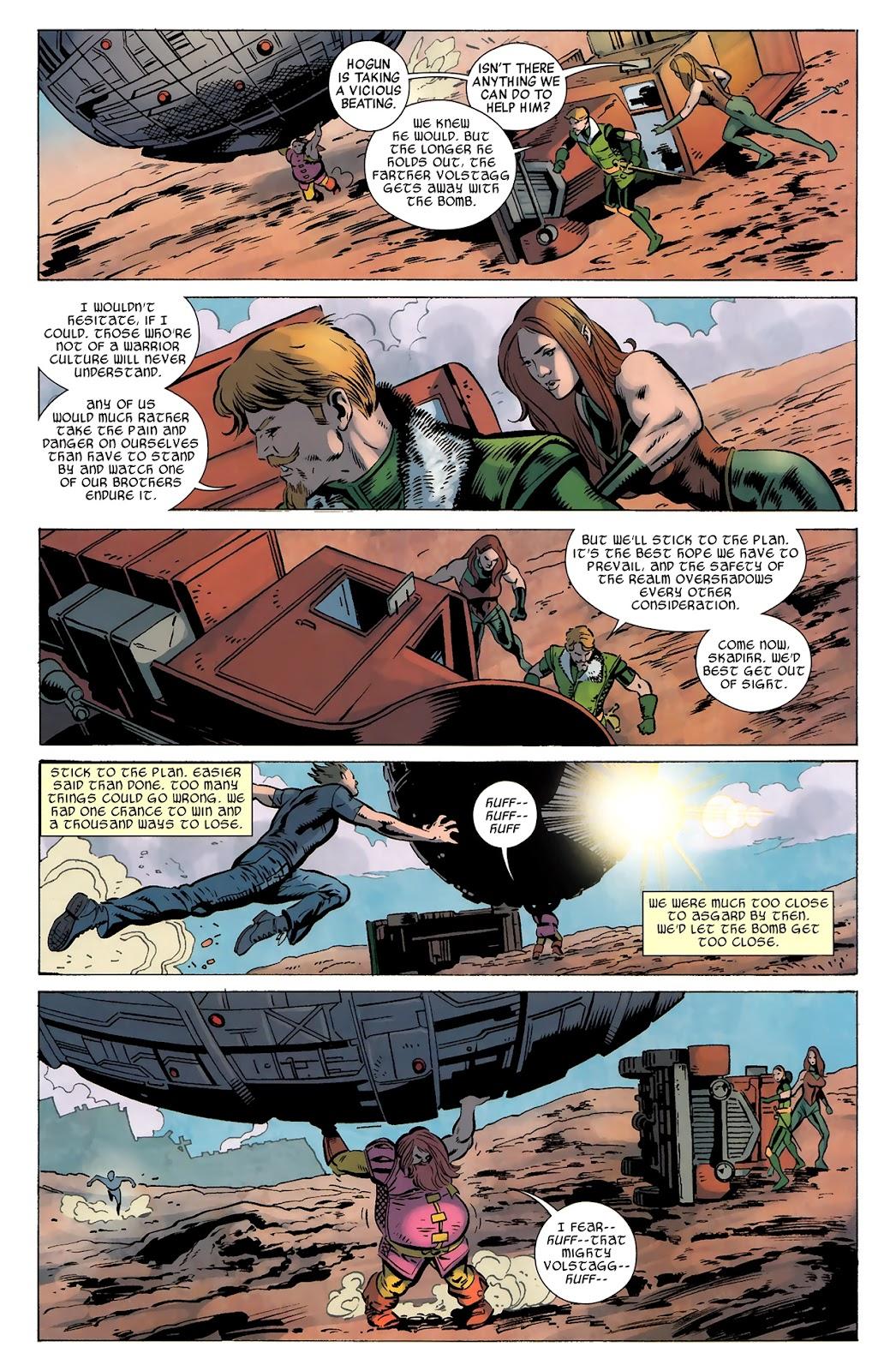 Warriors Three Issue #4 #4 - English 19