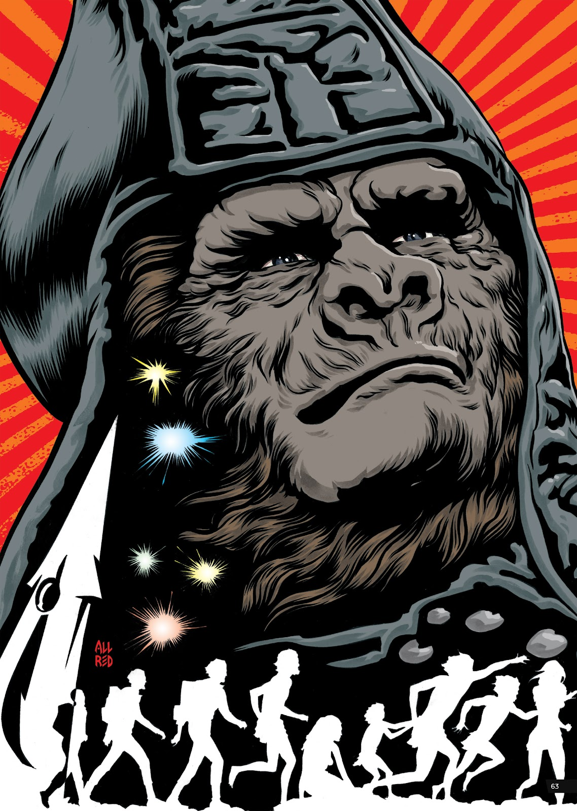 Read online Planet of the Apes Artist Tribute comic -  Issue # TPB - 63