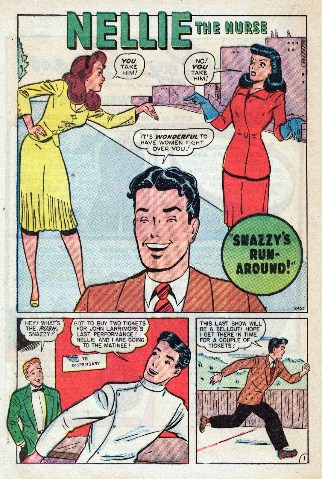 Read online Nellie The Nurse (1945) comic -  Issue #17 - 28