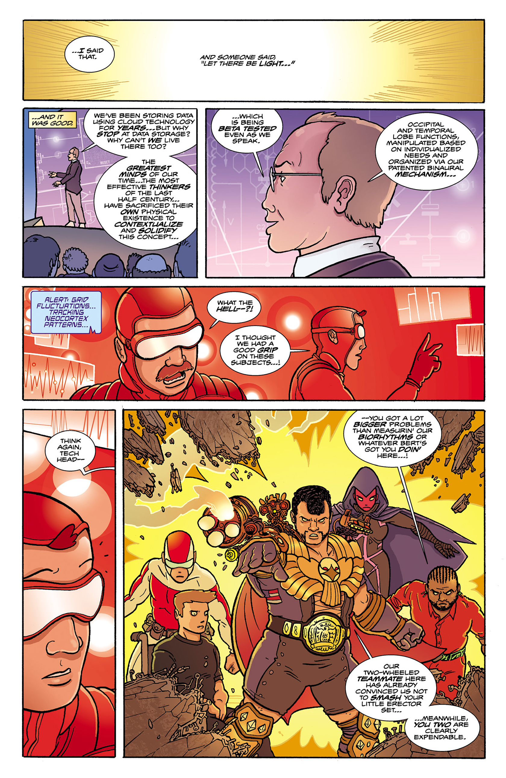 Read online Catalyst Comix comic -  Issue #9 - 10