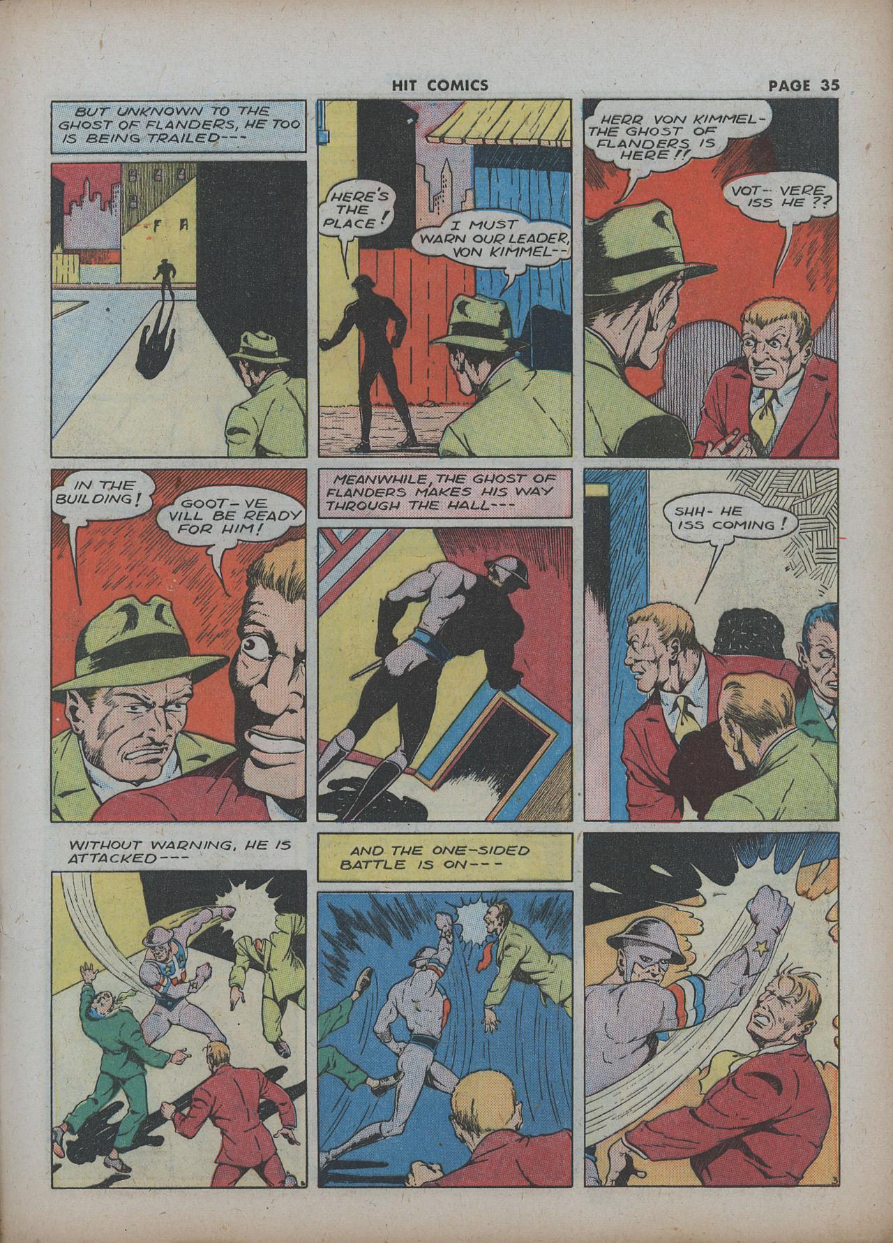 Read online Hit Comics comic -  Issue #22 - 37