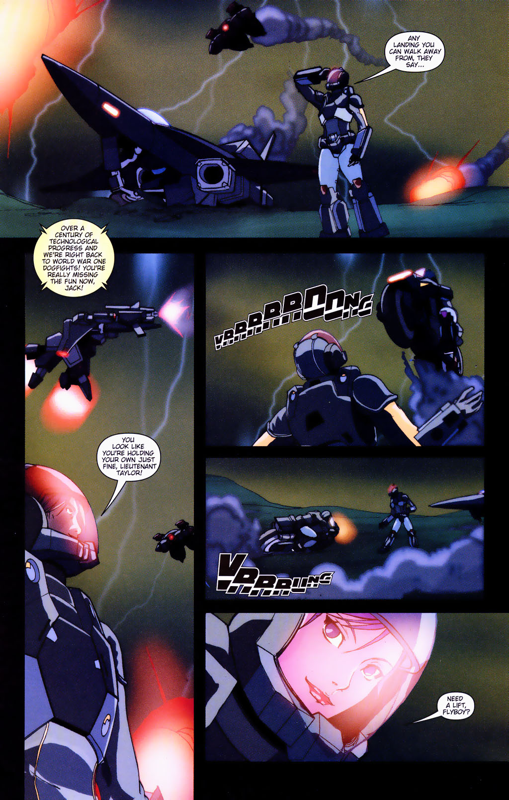 Read online Robotech: Prelude to the Shadow Chronicles comic -  Issue #4 - 10