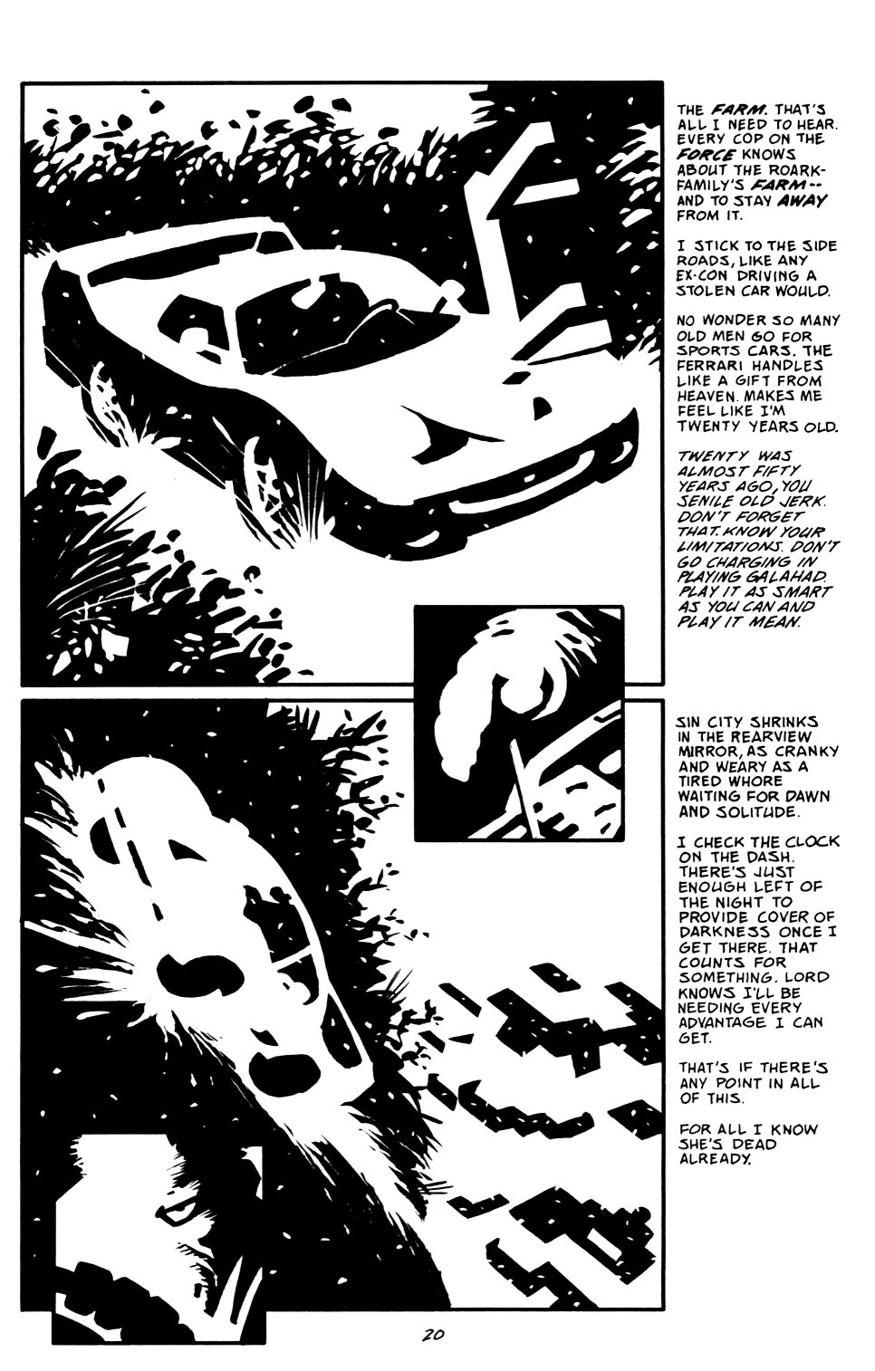 Read online Sin City: That Yellow Bastard comic -  Issue #6 - 20