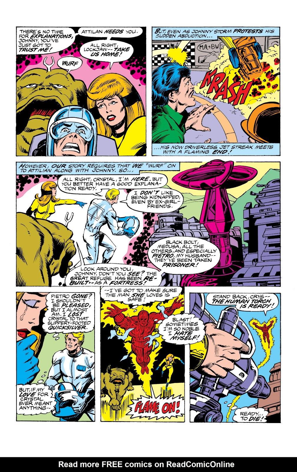 Read online Marvel Masterworks: The Inhumans comic -  Issue # TPB 2 (Part 3) - 49