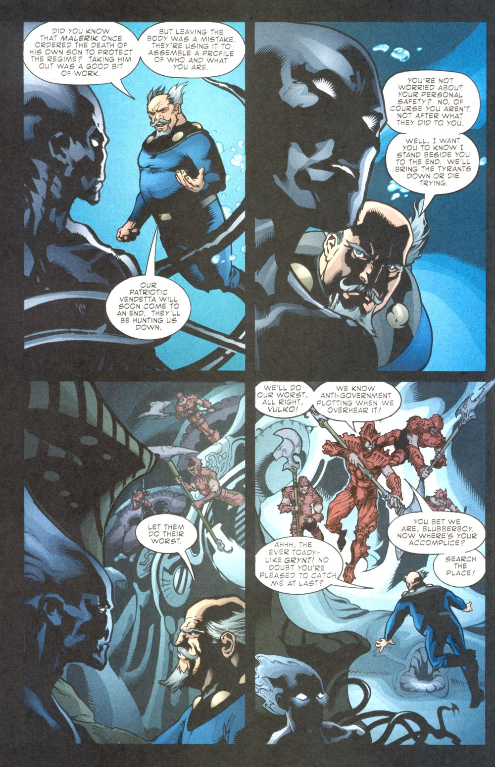 Read online Aquaman (2003) comic -  Issue #10 - 20