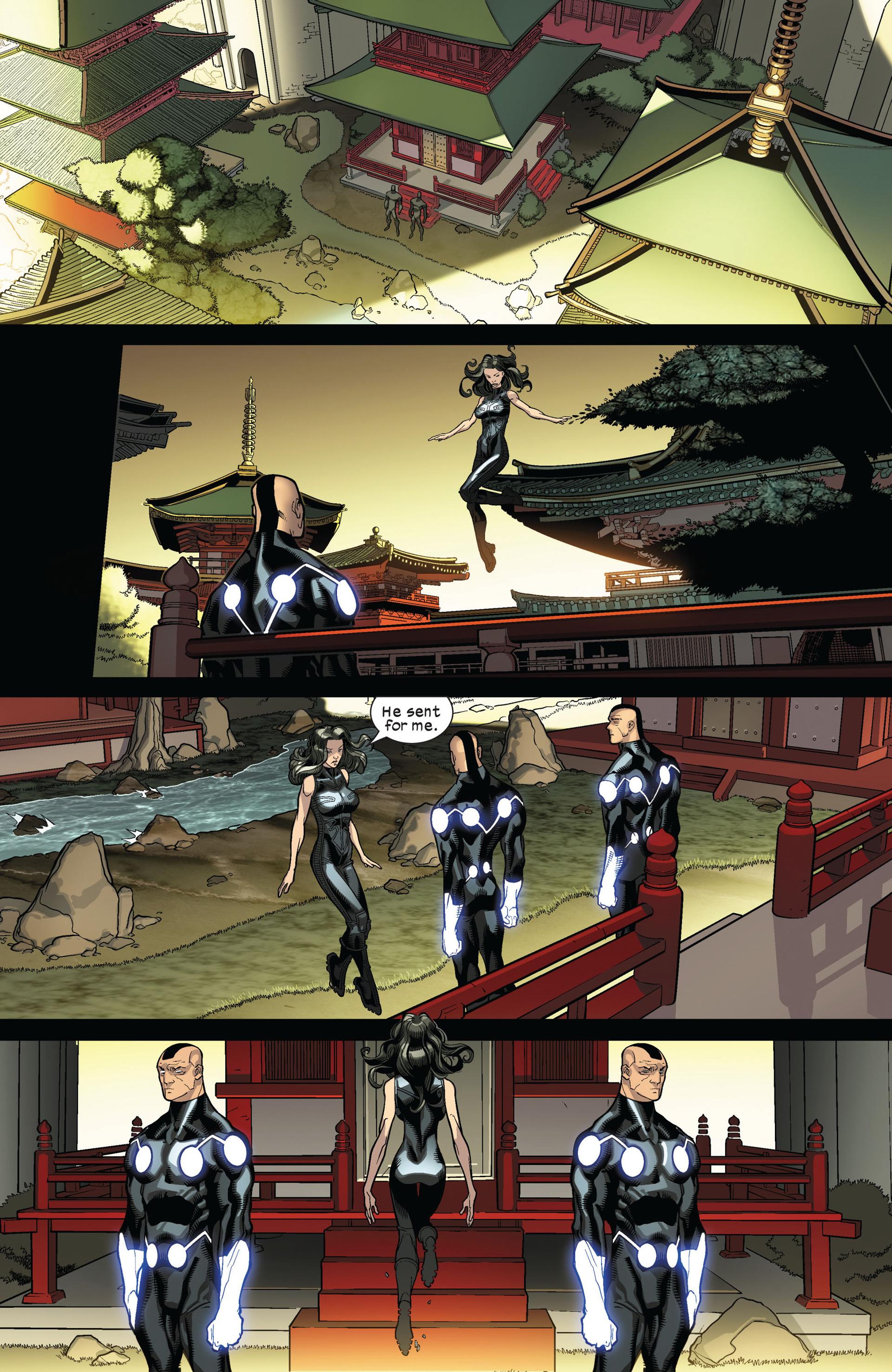 Read online Ultimate Comics X-Men comic -  Issue #8 - 18