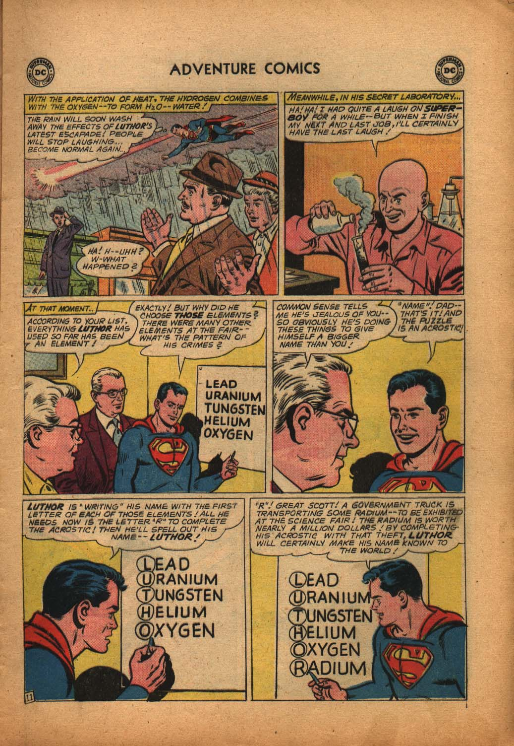 Read online Adventure Comics (1938) comic -  Issue #292 - 13
