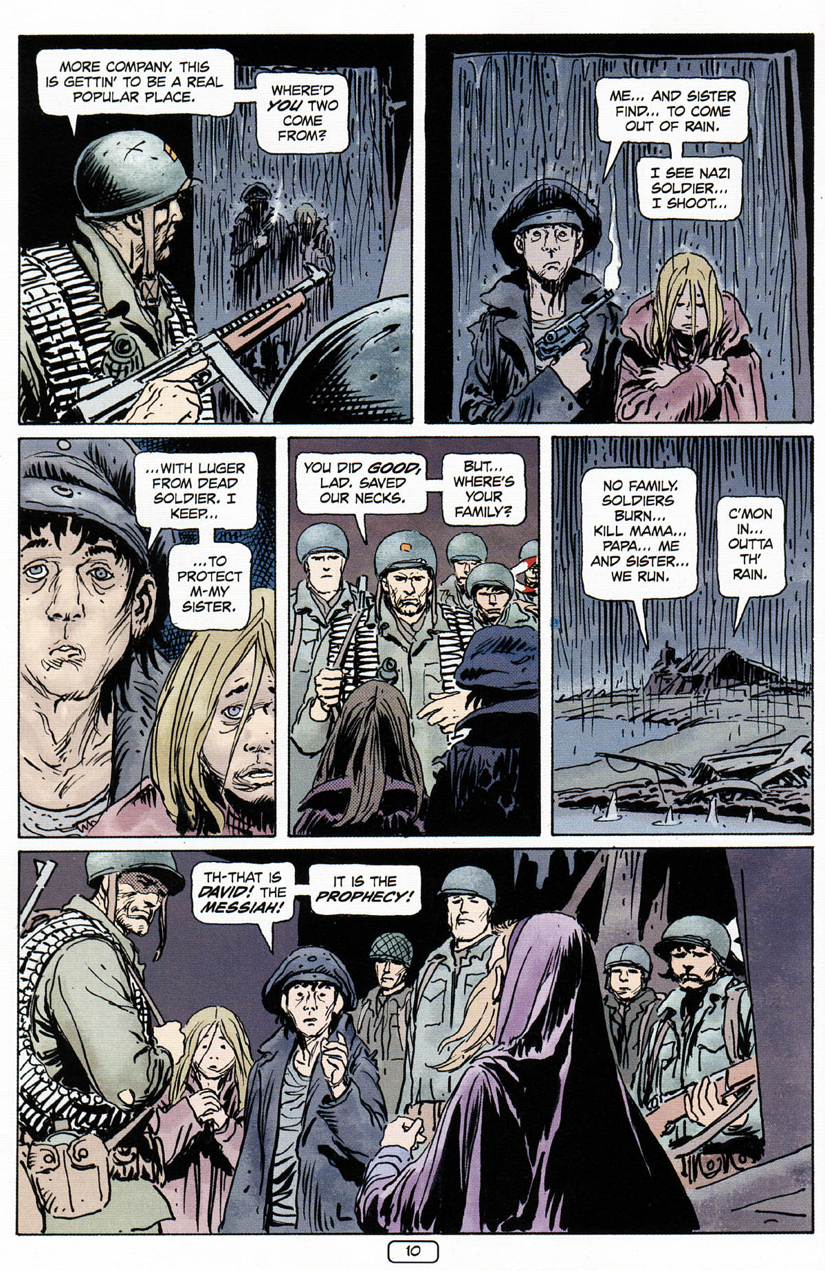 Read online Sgt. Rock: The Prophecy comic -  Issue #3 - 11