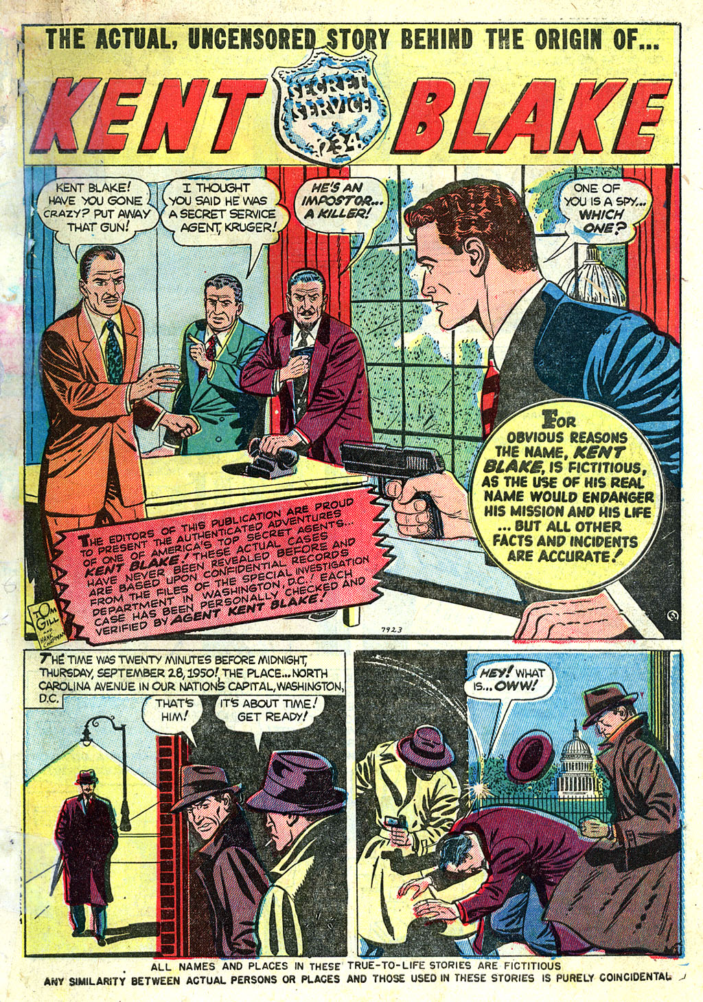 Kent Blake of the Secret Service issue 1 - Page 3