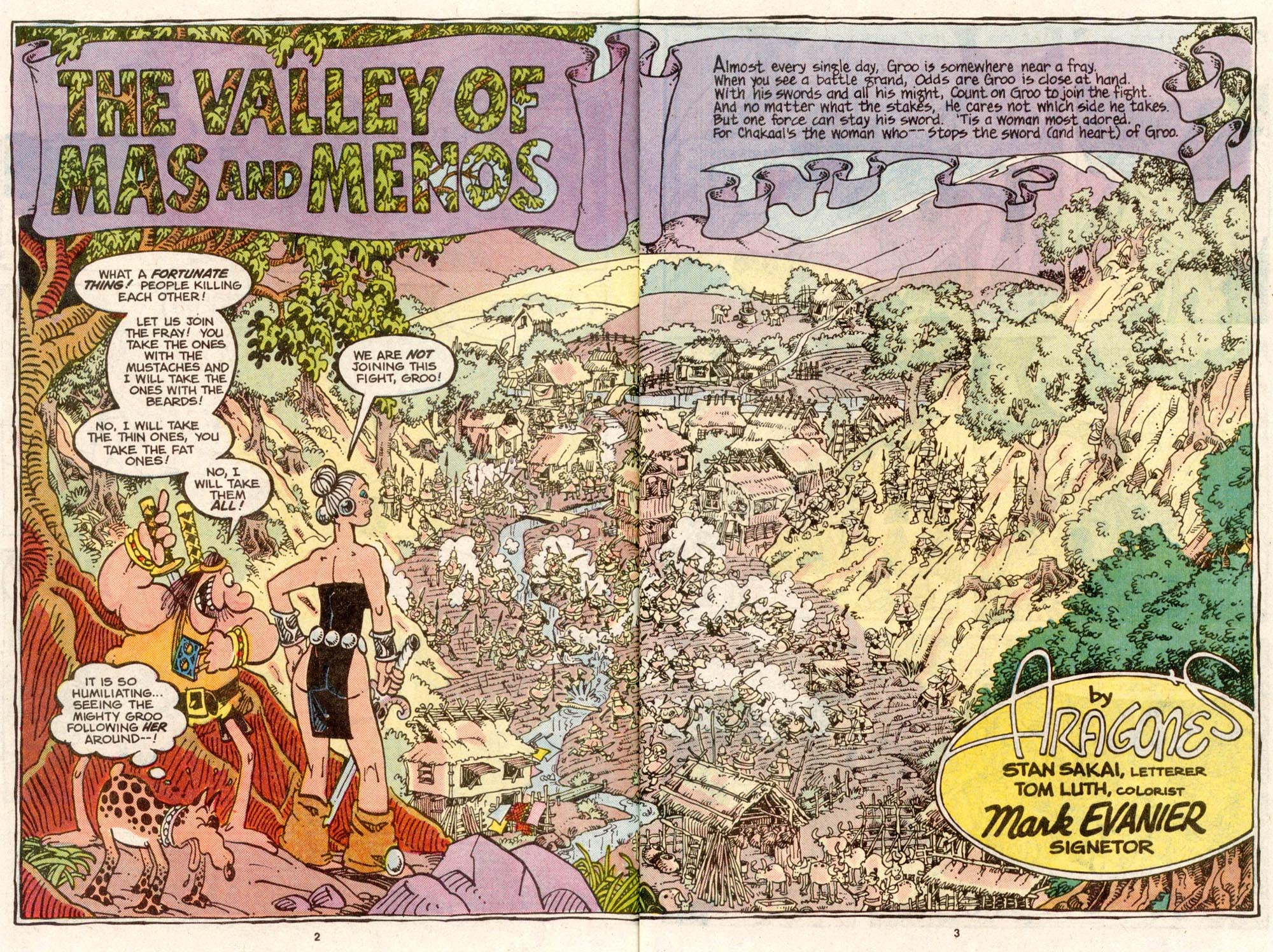 Read online Sergio Aragonés Groo the Wanderer comic -  Issue #51 - 3
