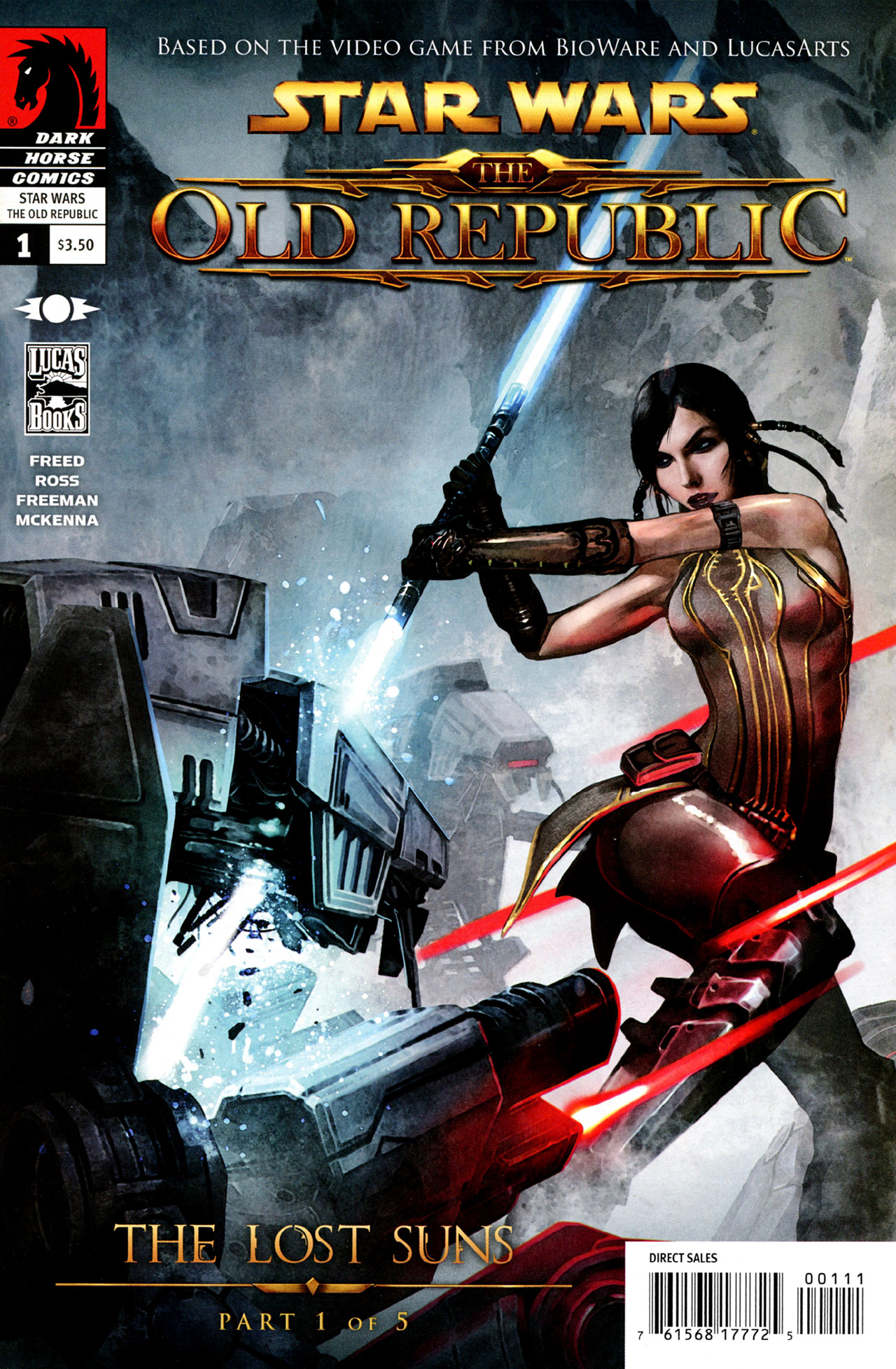 Read online Star Wars: The Old Republic - The Lost Suns comic -  Issue #1 - 1