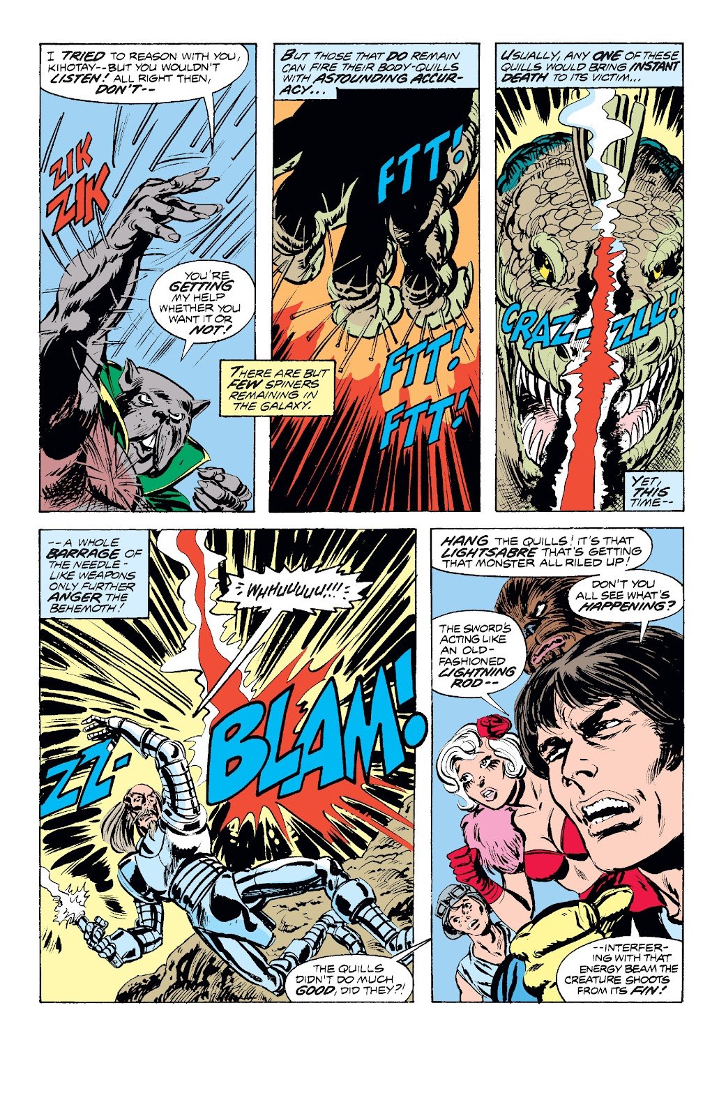 Read online Star Wars Legends: The Original Marvel Years - Epic Collection comic -  Issue # TPB 1 (Part 2) - 85