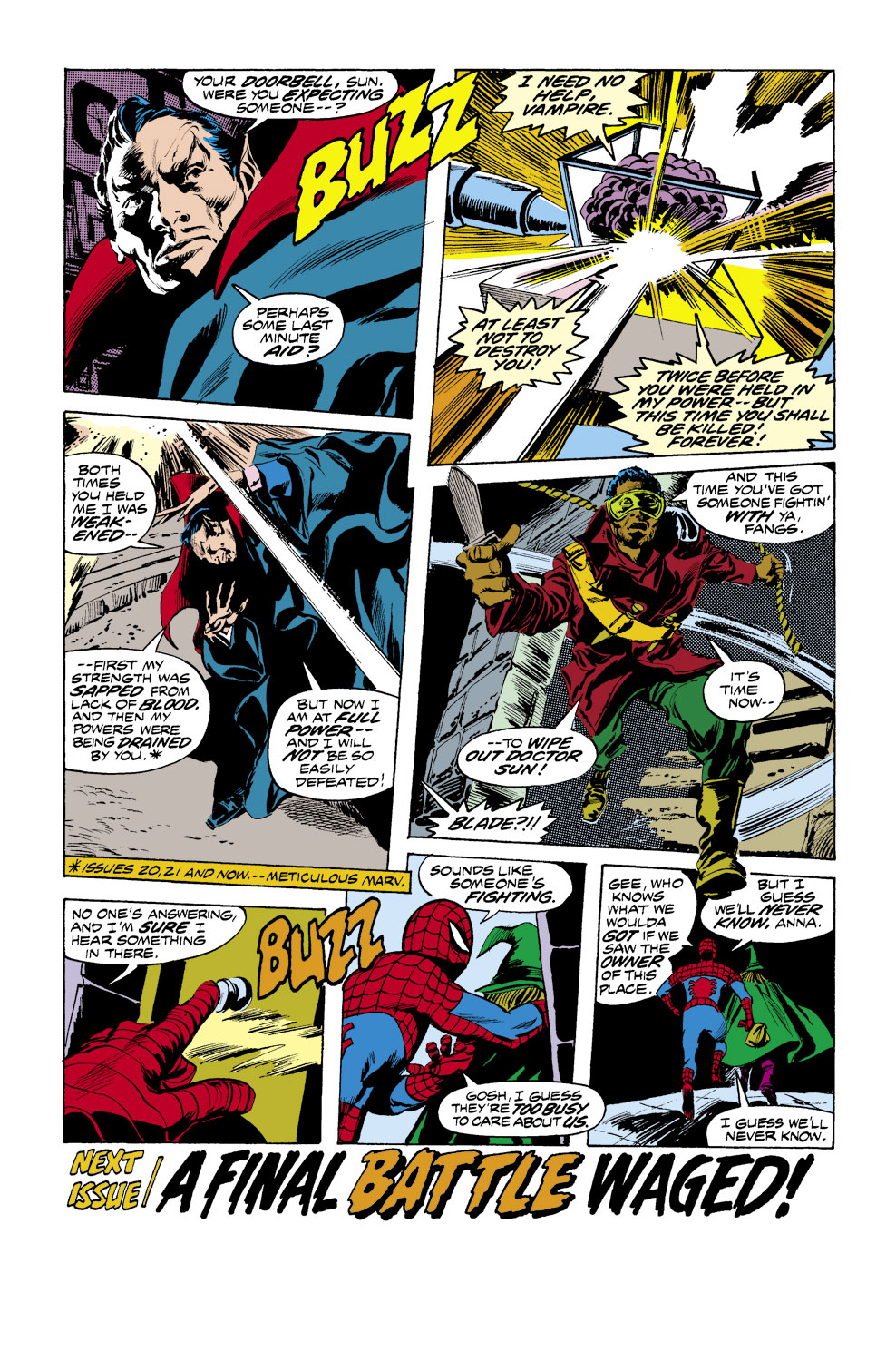 Tomb of Dracula (1972) issue 41 - Page 19