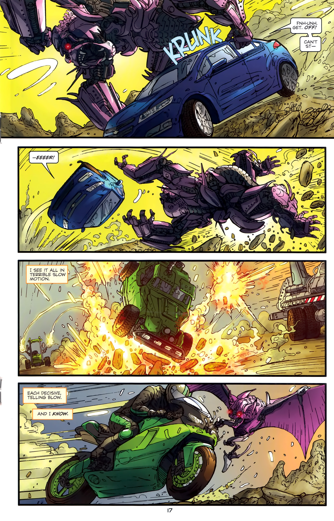 Read online Transformers: Nefarious comic -  Issue #3 - 20