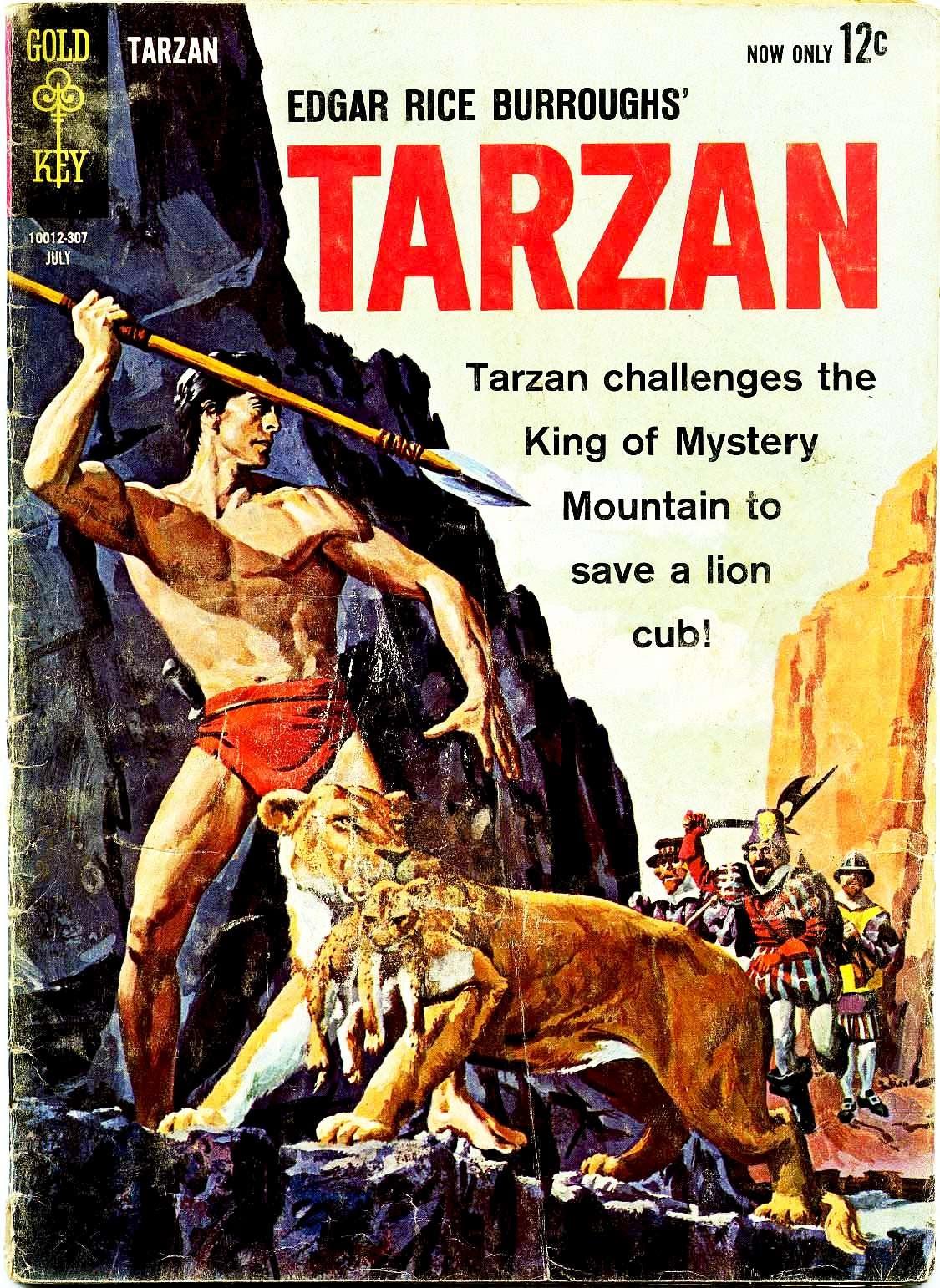 Tarzan (1962) issue 136 - Page 1