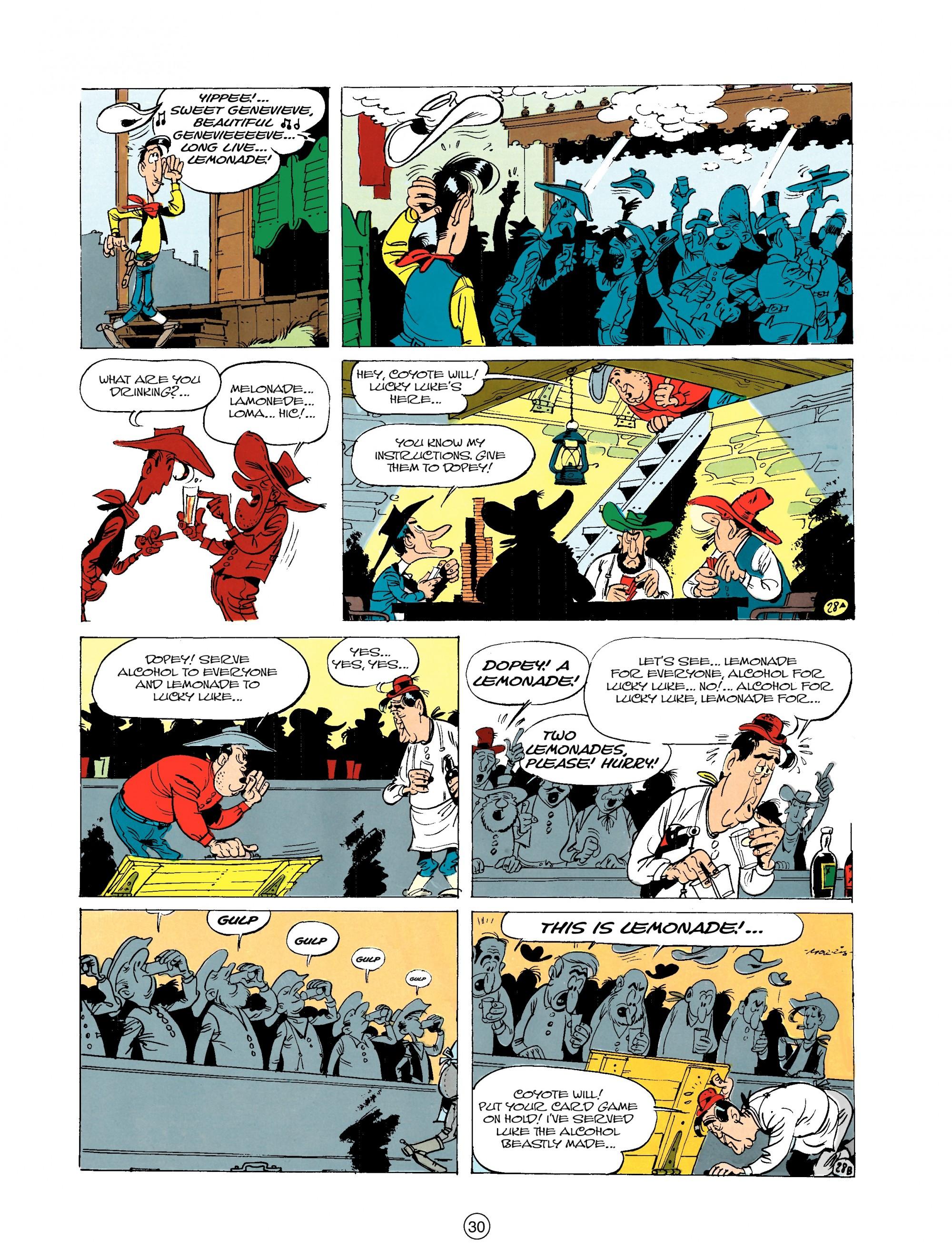 Read online A Lucky Luke Adventure comic -  Issue #20 - 30