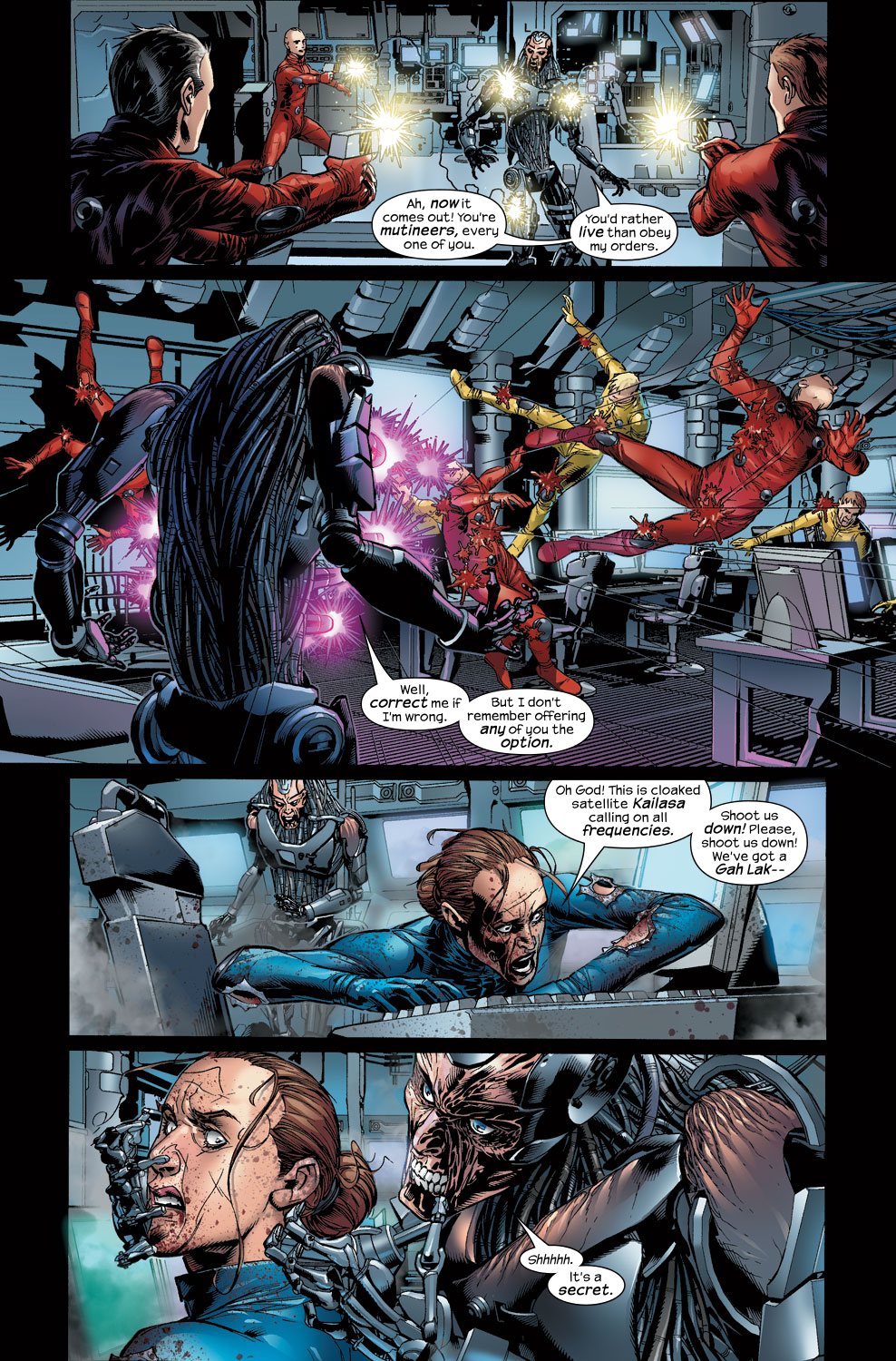 Read online Ultimate Vision comic -  Issue #3 - 6