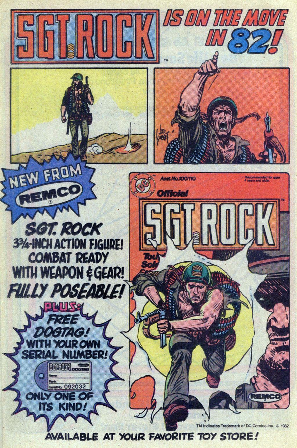 Read online Sgt. Rock comic -  Issue #369 - 18