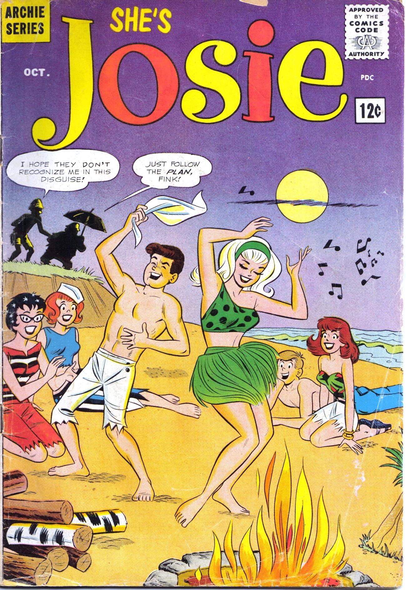 Read online She's Josie comic -  Issue #3 - 1