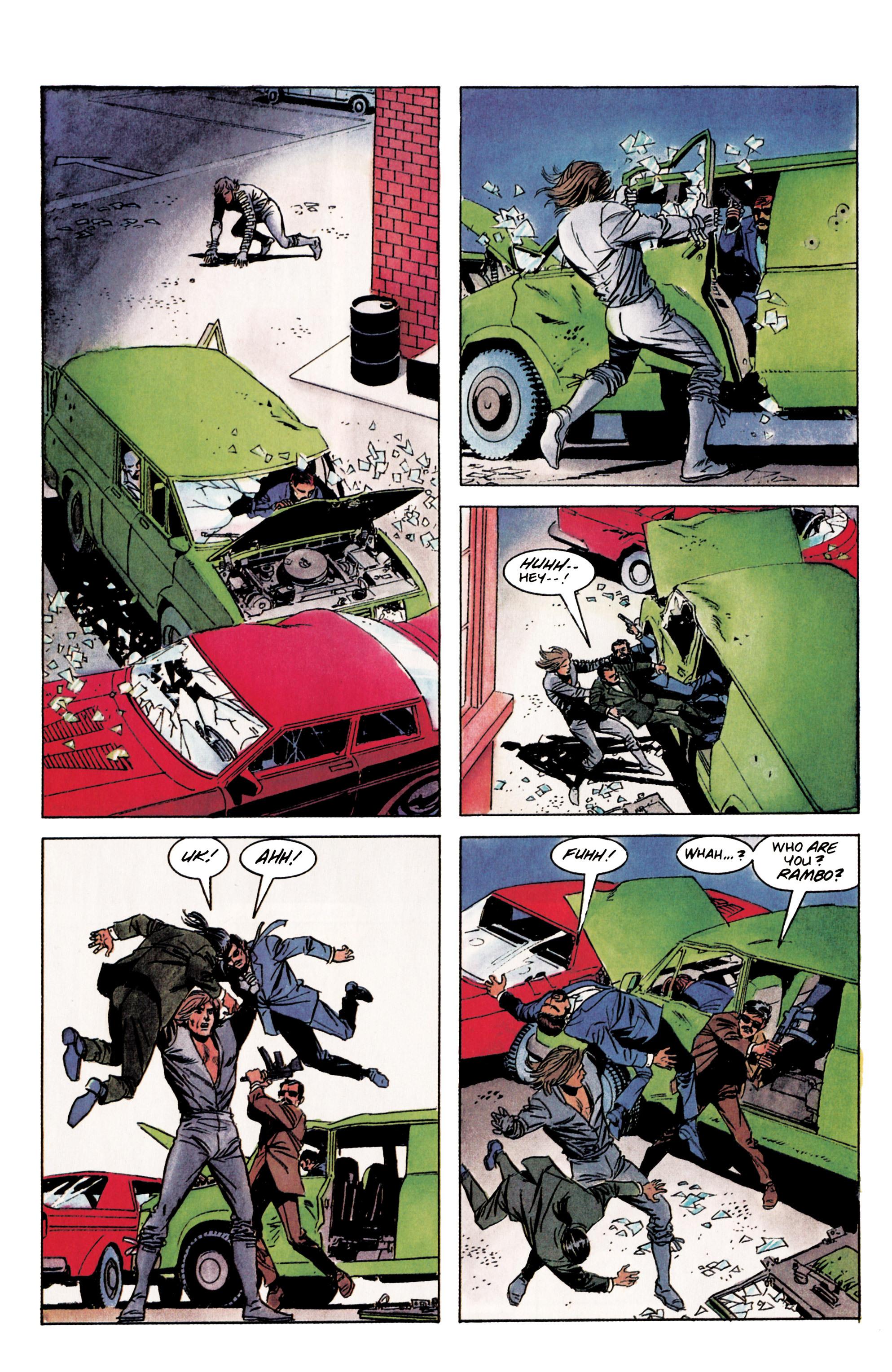 Read online Eternal Warrior (1992) comic -  Issue #3 - 5
