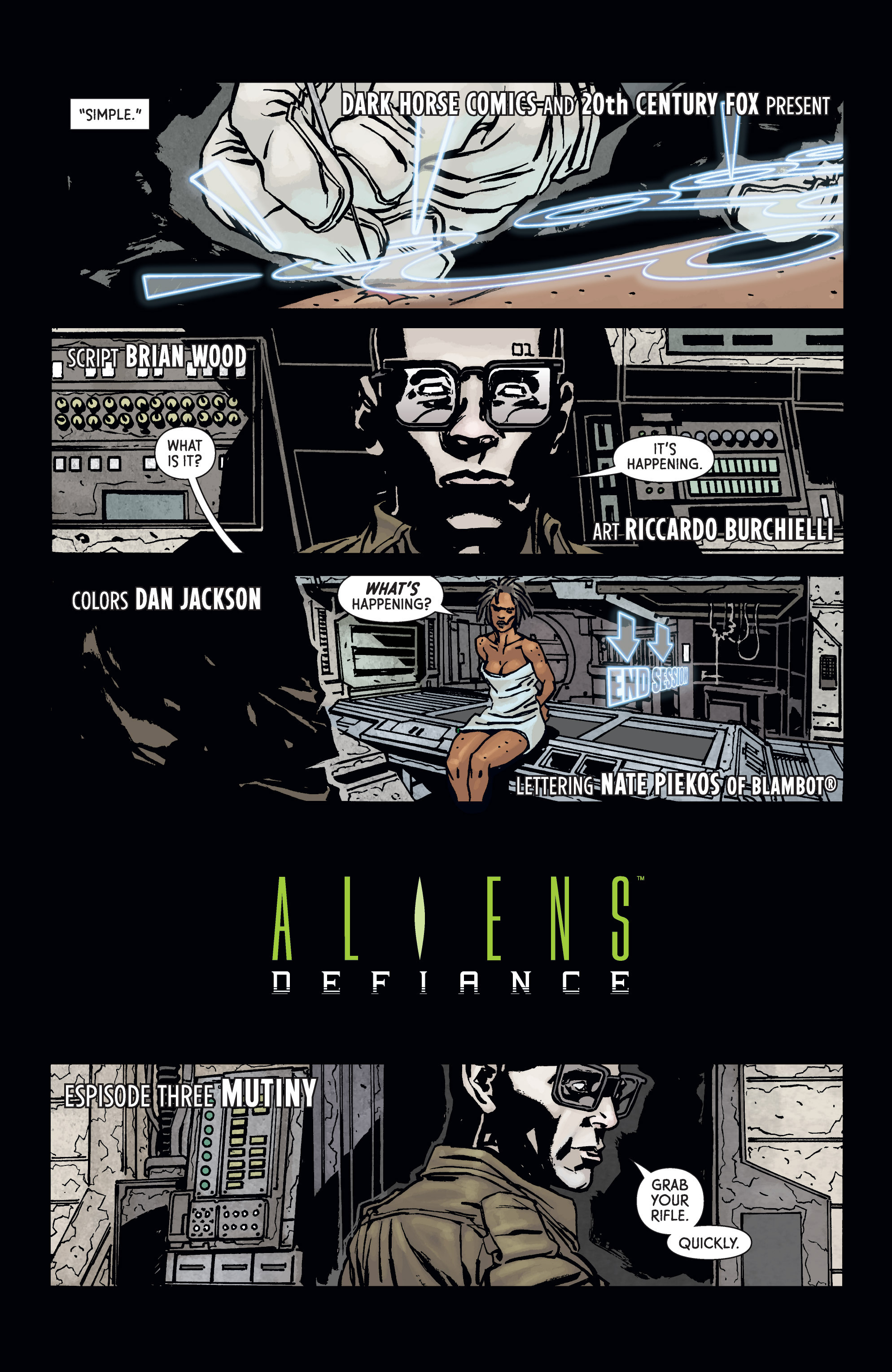 Read online Aliens: Defiance comic -  Issue #3 - 7