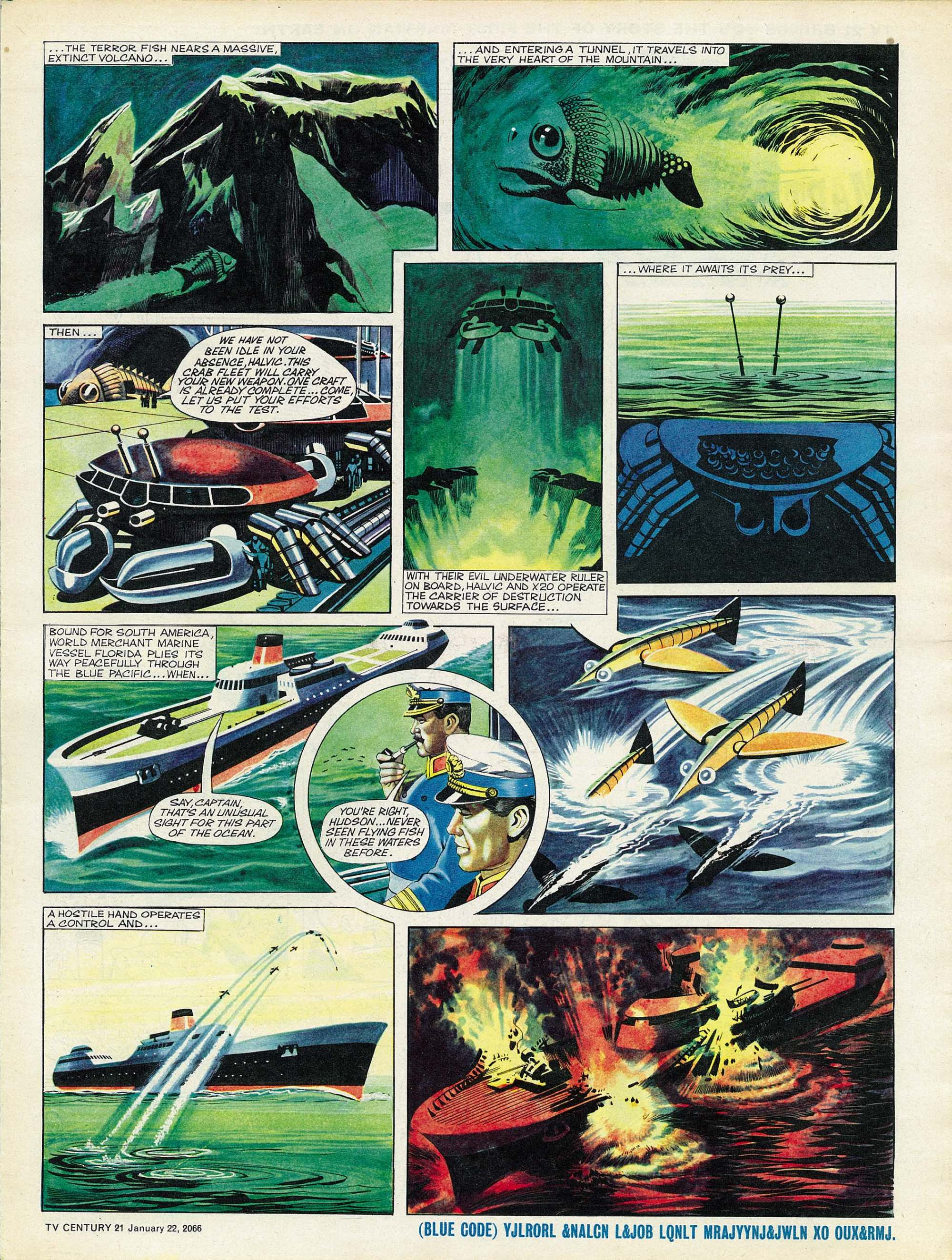 Read online TV Century 21 (TV 21) comic -  Issue #53 - 5