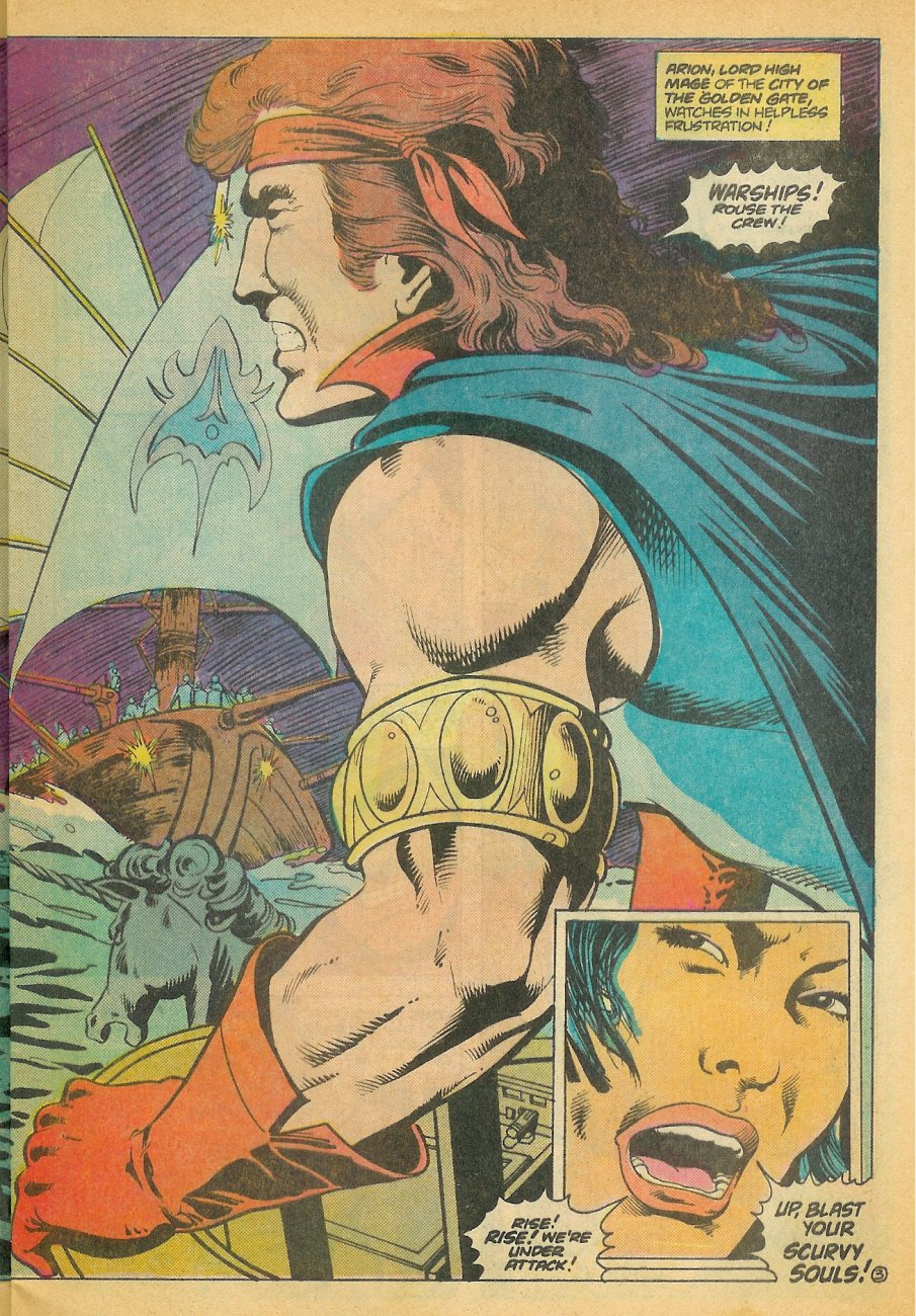Read online Arion, Lord of Atlantis comic -  Issue #21 - 4