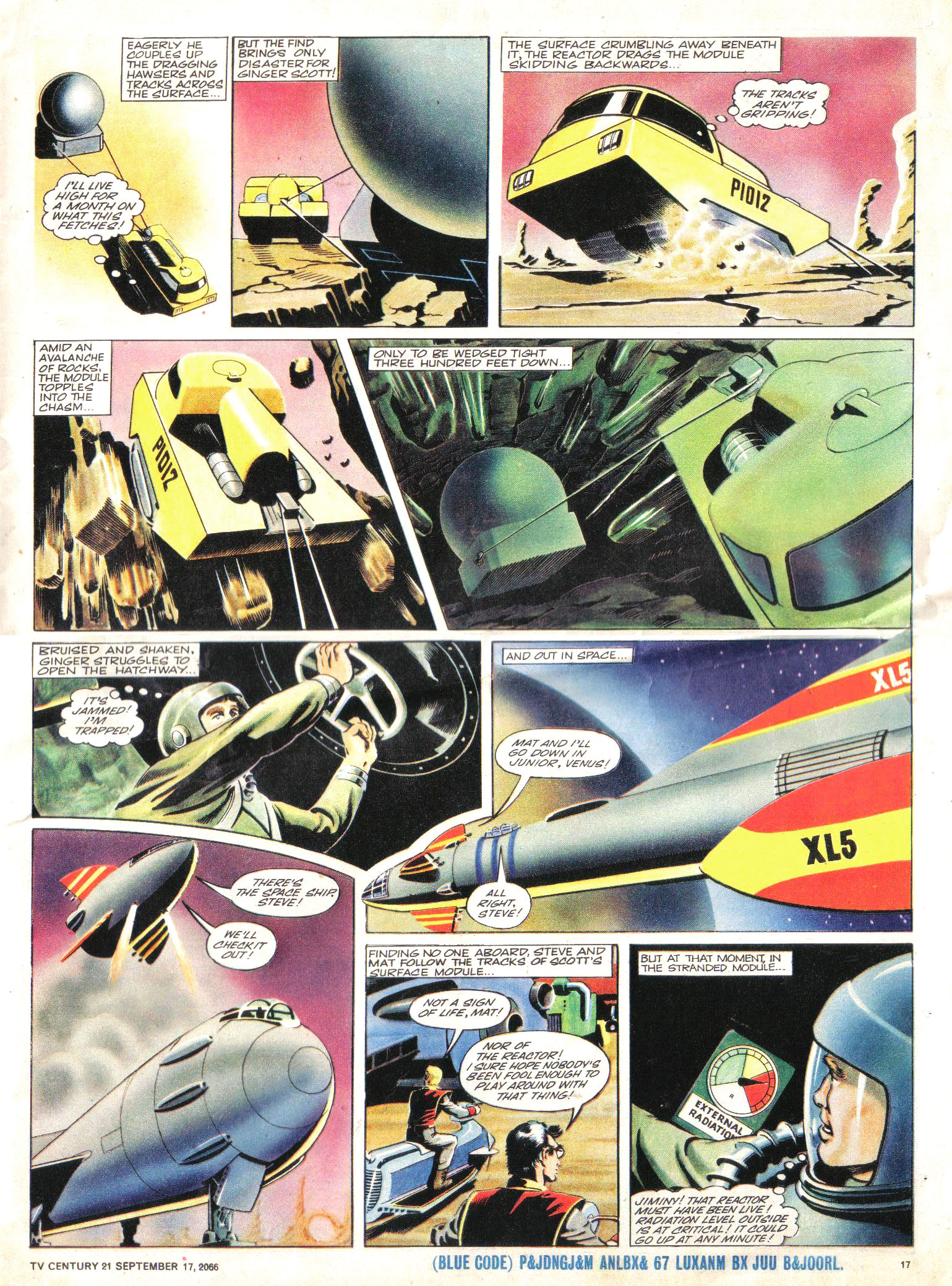 Read online TV Century 21 (TV 21) comic -  Issue #87 - 16
