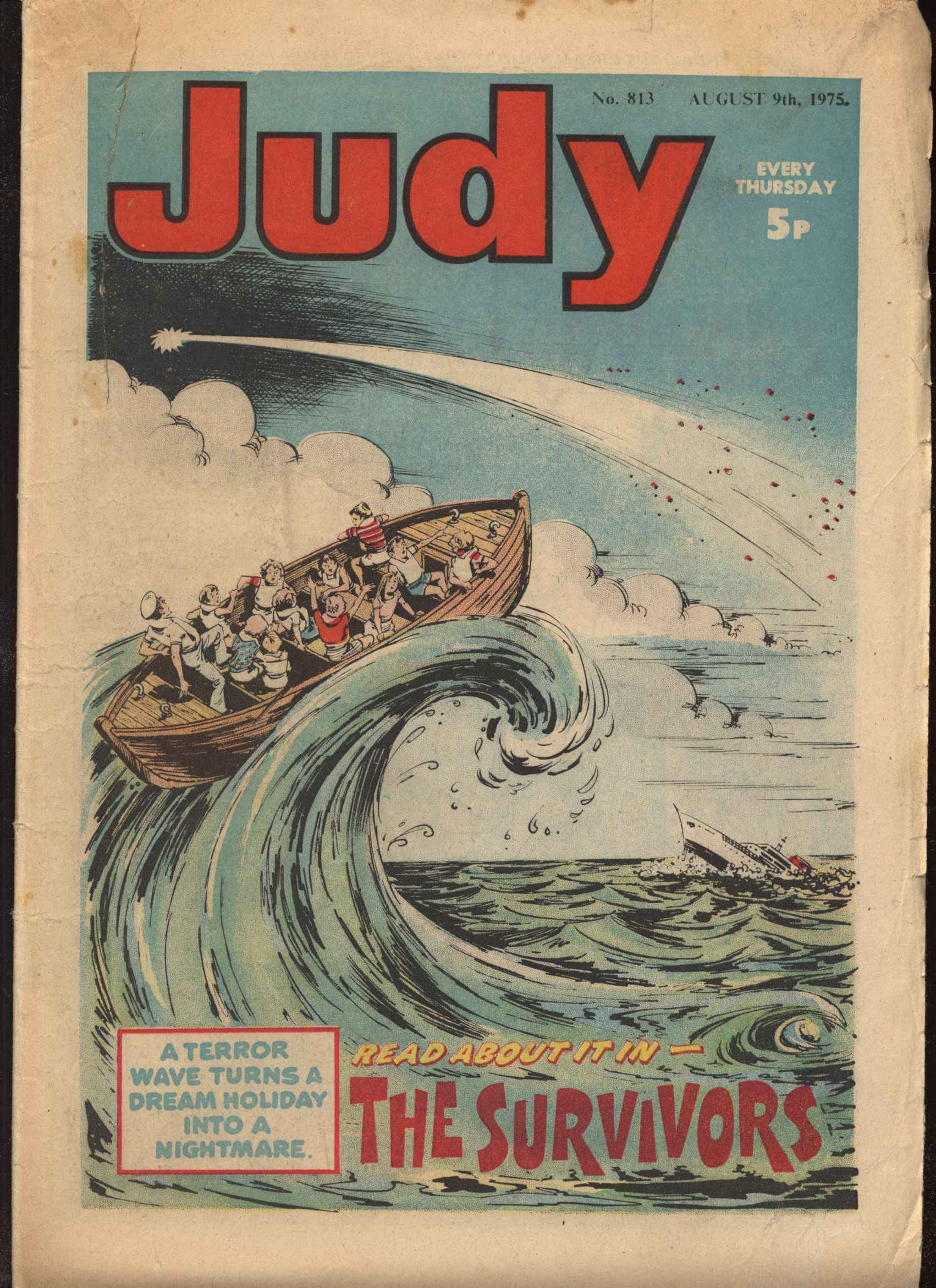 Read online Judy comic -  Issue #813 - 1