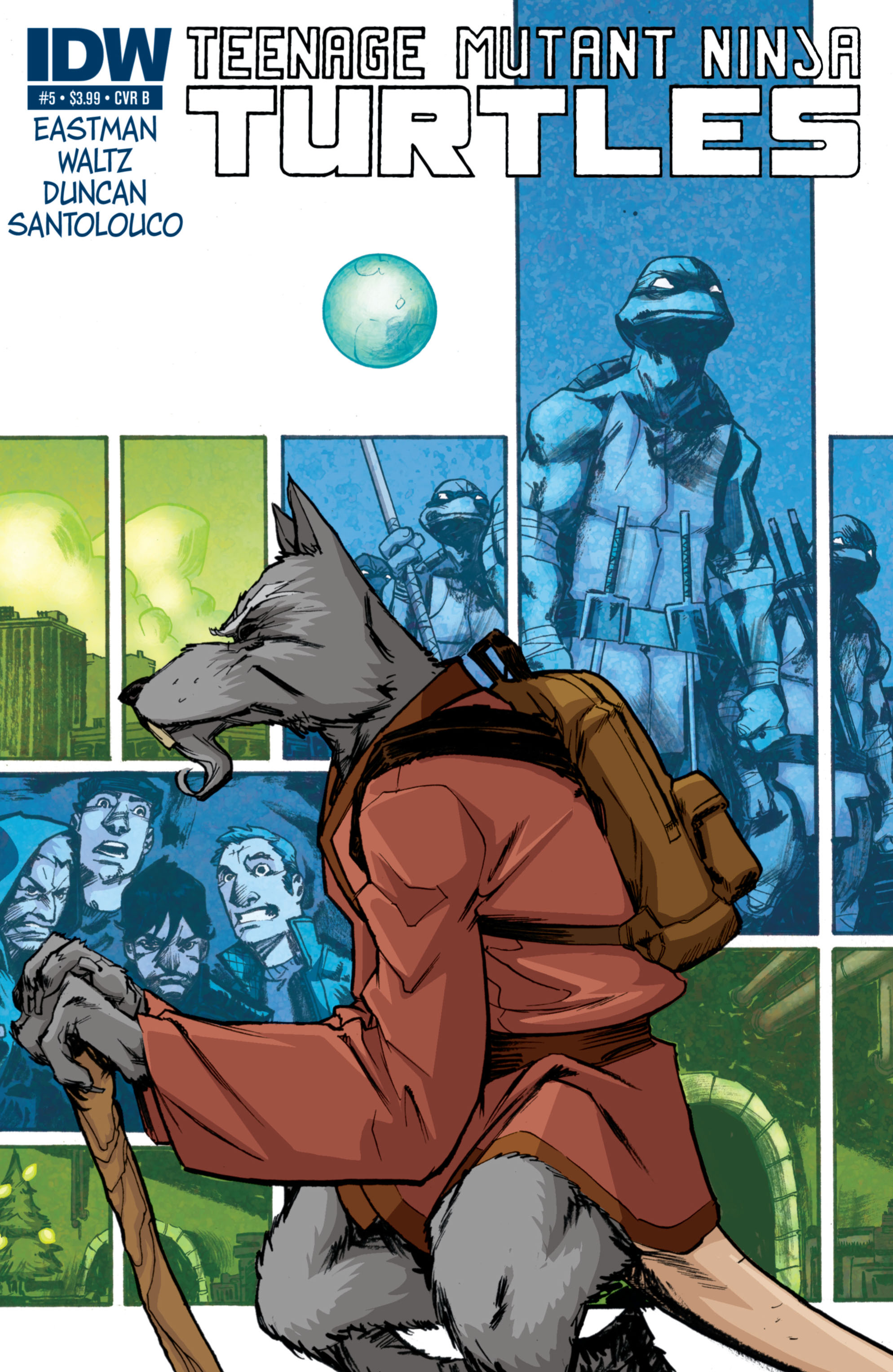 Teenage Mutant Ninja Turtles (2011) 5 Page 2