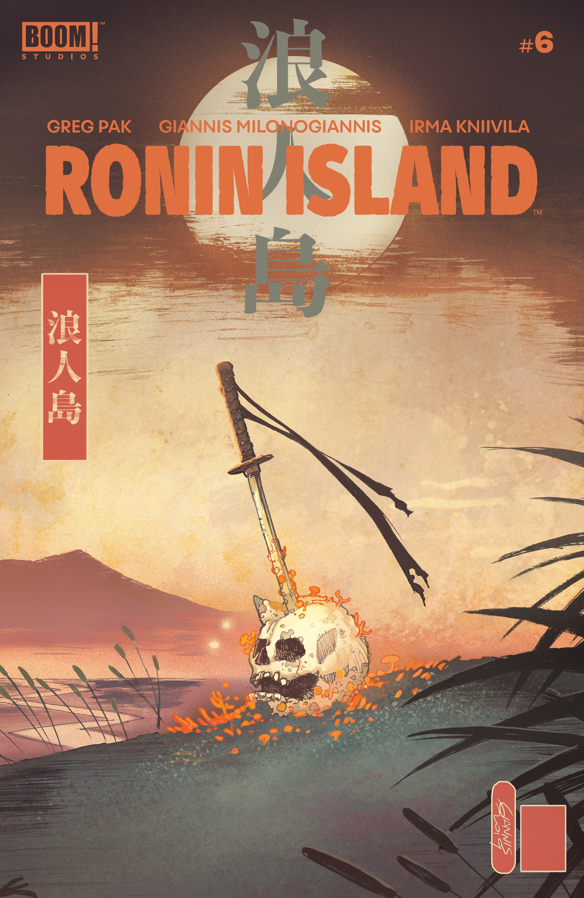 Read online Ronin Island comic -  Issue #6 - 1