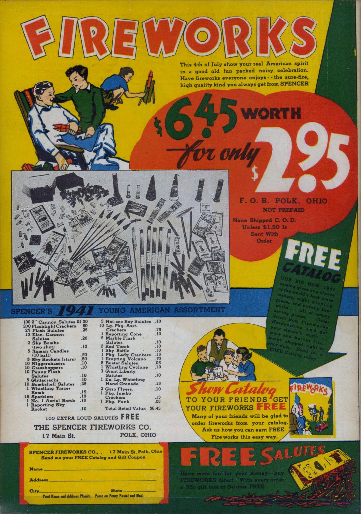 Read online Adventure Comics (1938) comic -  Issue #63 - 70