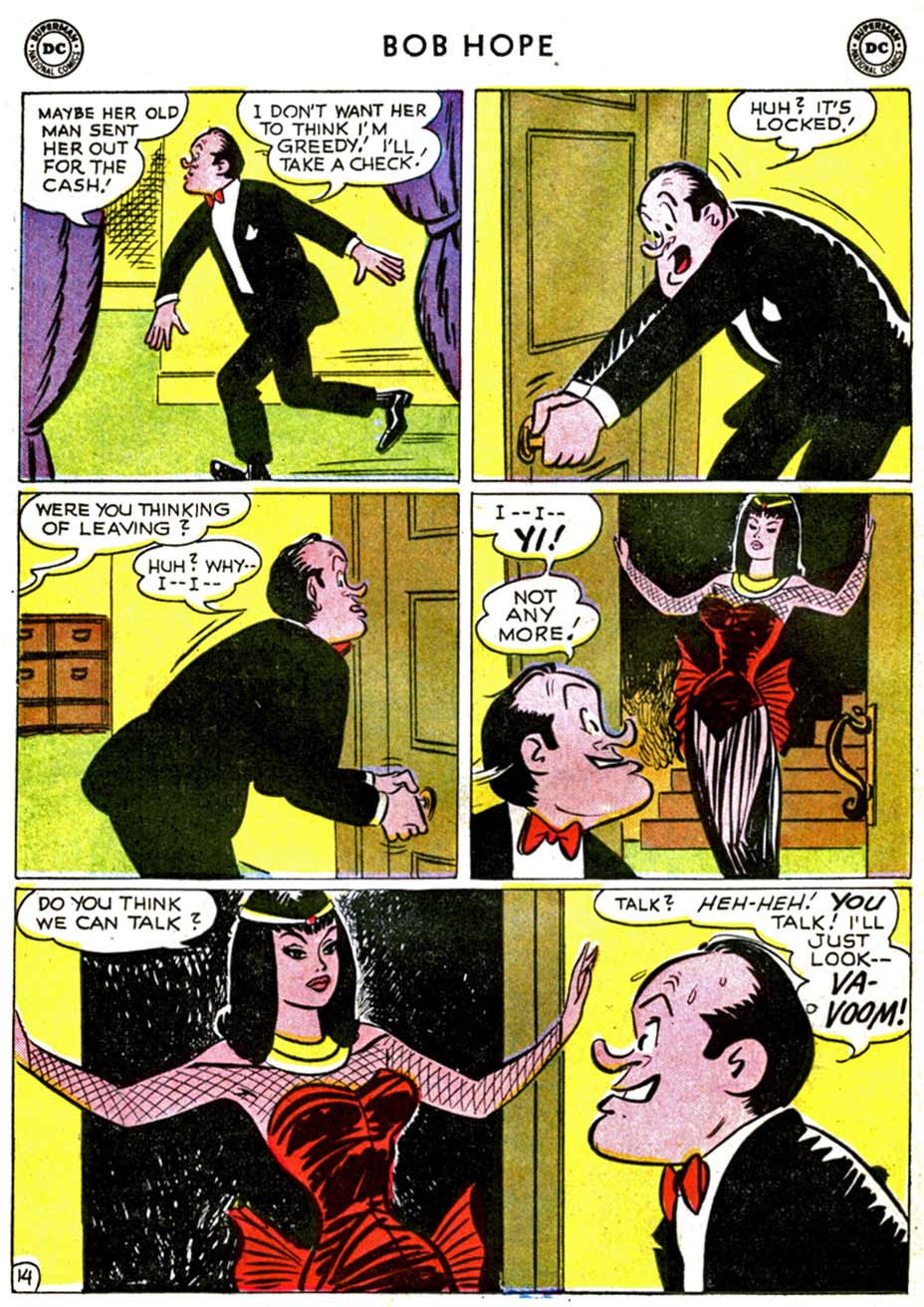 The Adventures of Bob Hope issue 71 - Page 18