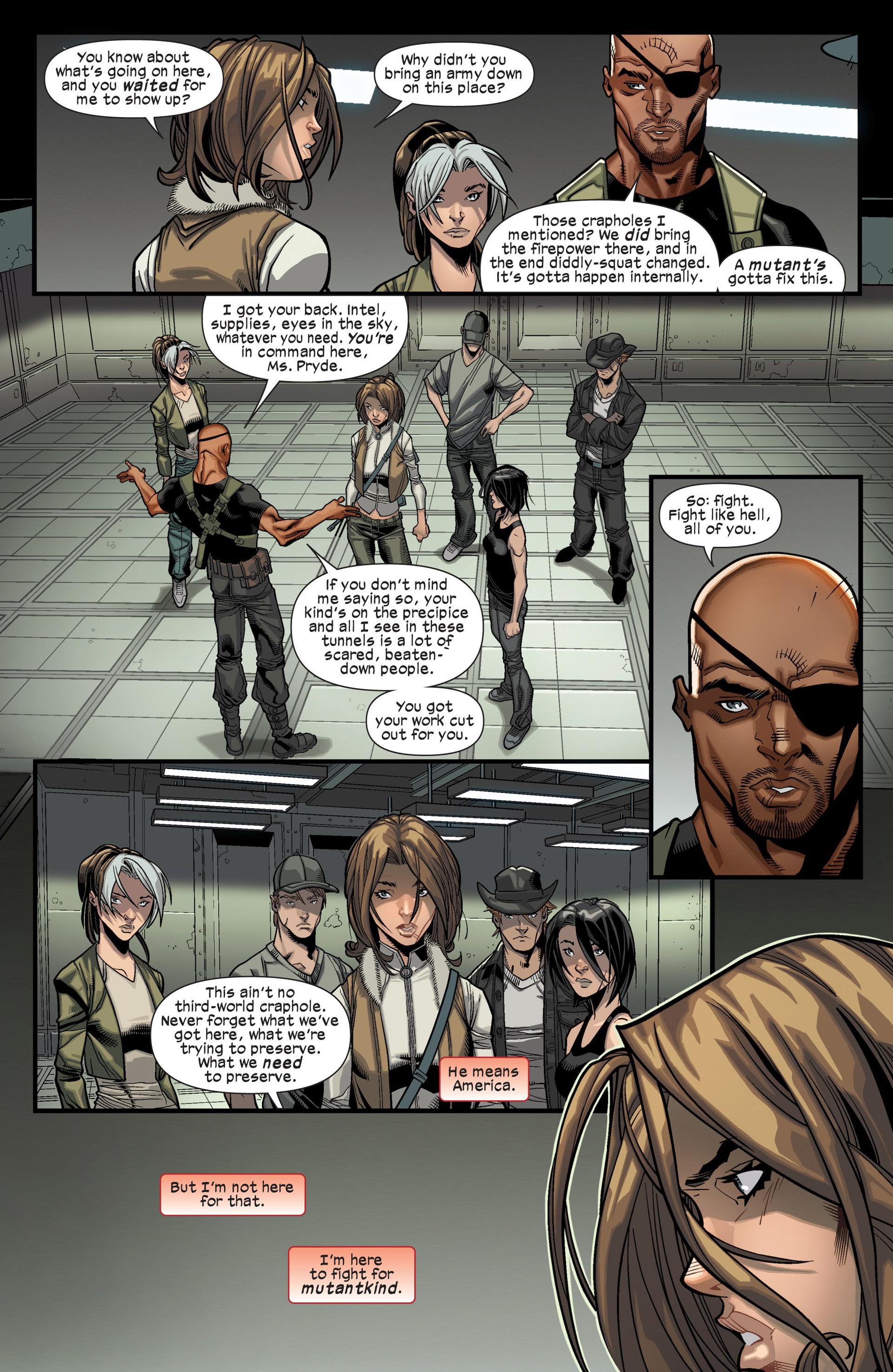 Read online Ultimate Comics X-Men comic -  Issue #16 - 6