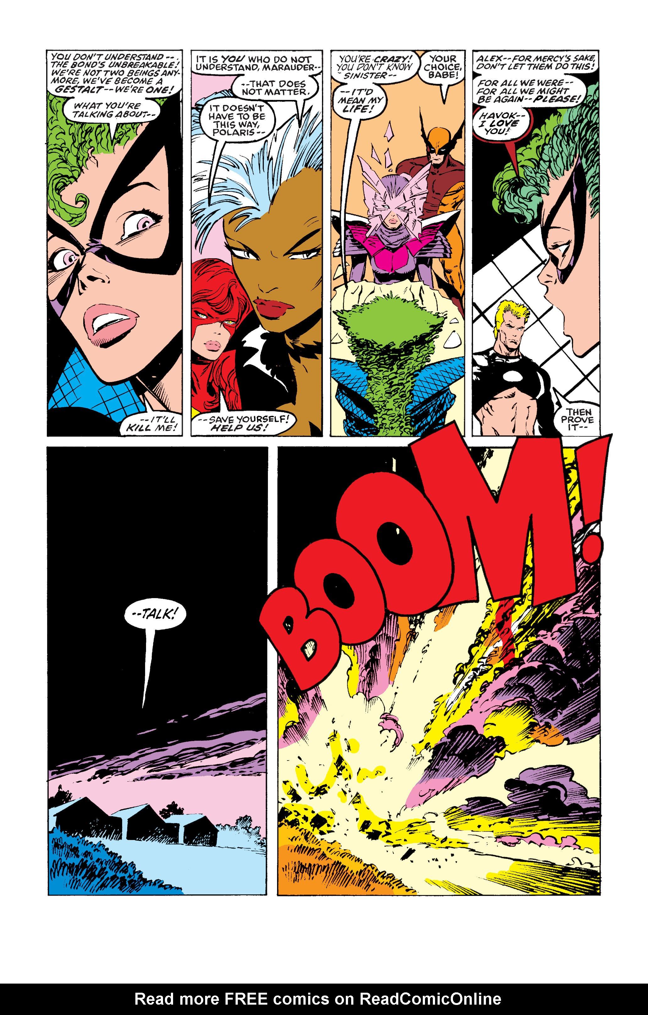 Read online Uncanny X-Men (1963) comic -  Issue #243 - 24