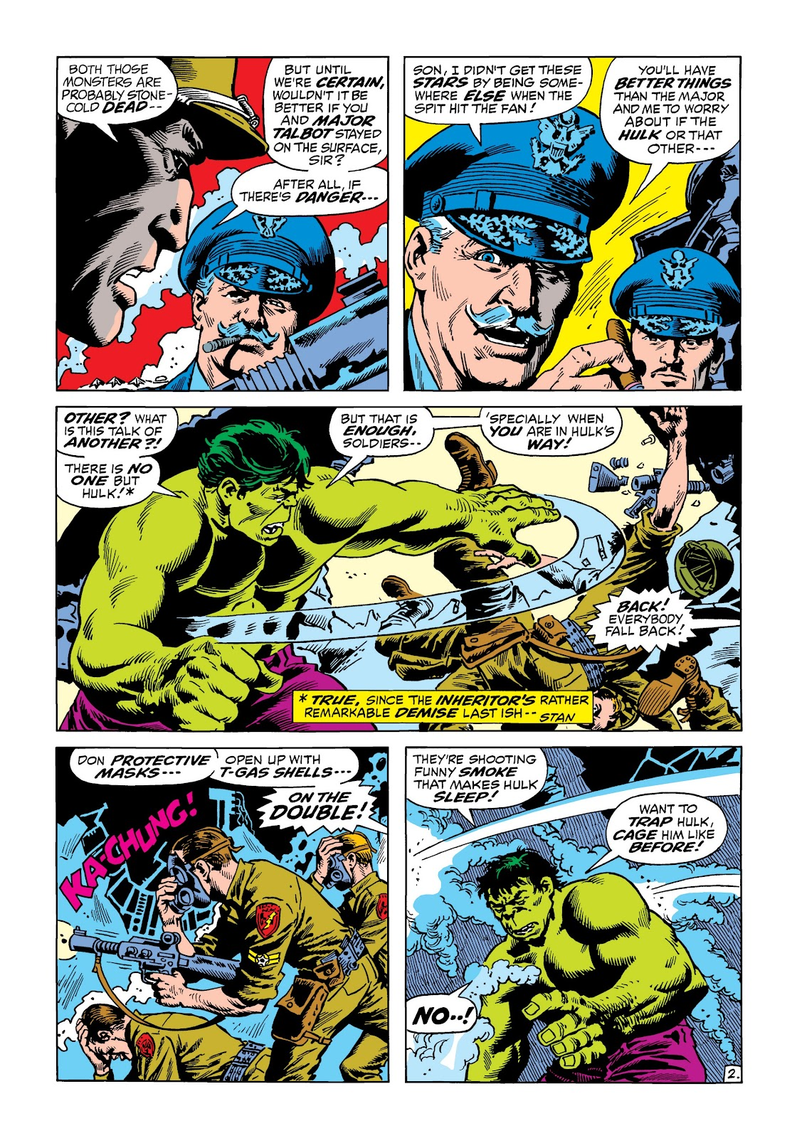 Read online Marvel Masterworks: The Incredible Hulk comic -  Issue # TPB 8 (Part 2) - 32