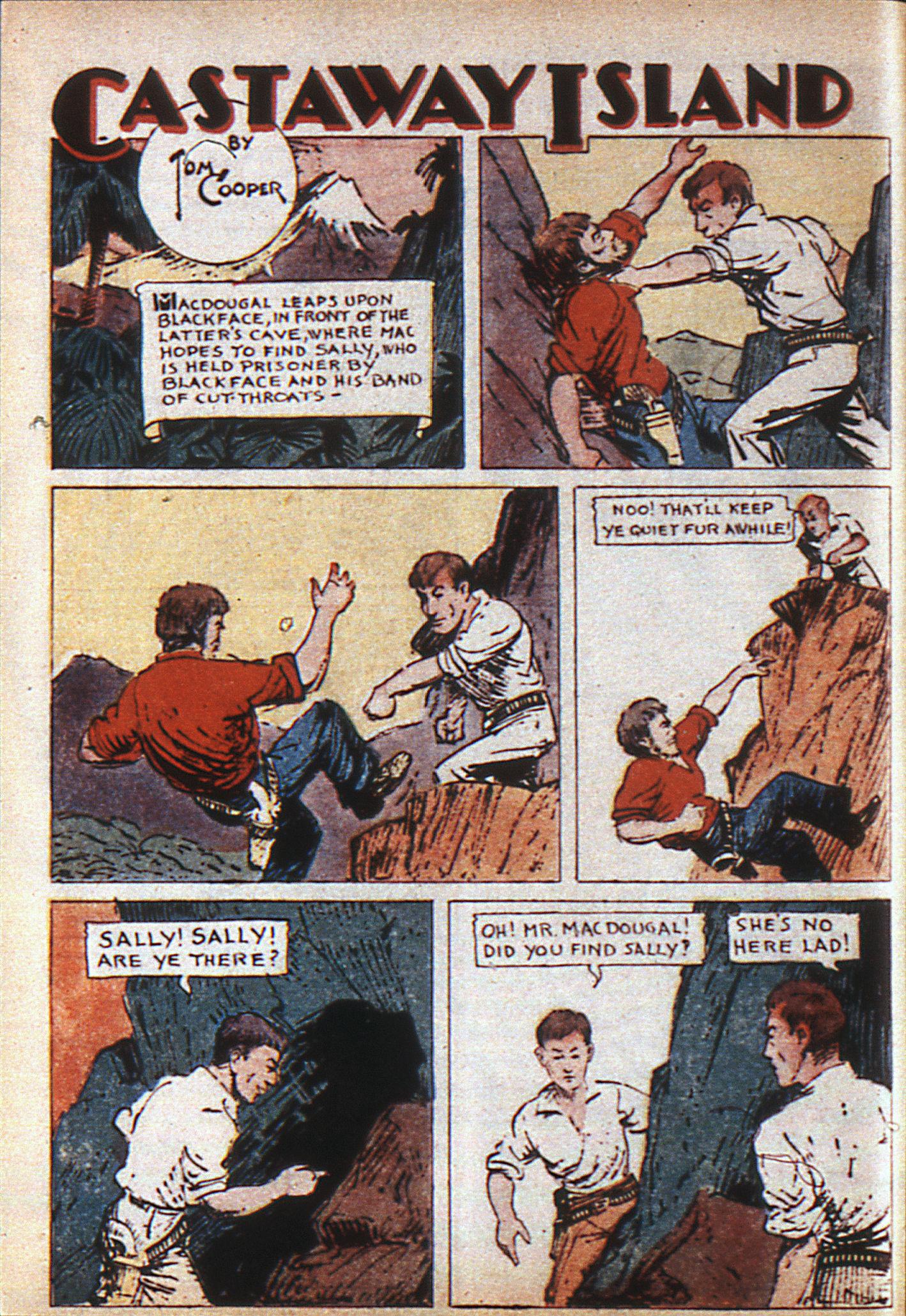 Read online Adventure Comics (1938) comic -  Issue #6 - 9