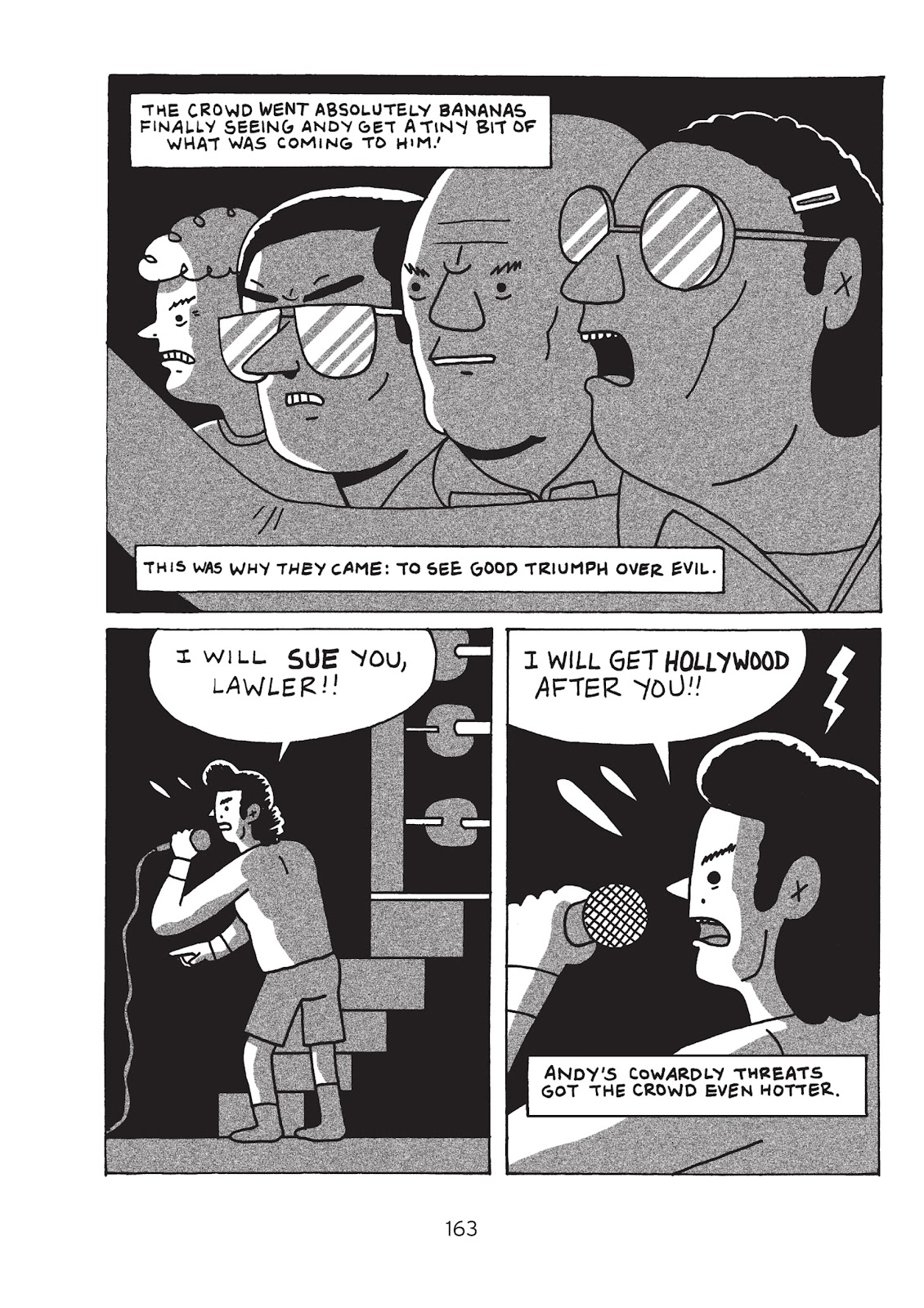 Read online Is This Guy For Real?: The Unbelievable Andy Kaufman comic -  Issue # TPB (Part 2) - 68