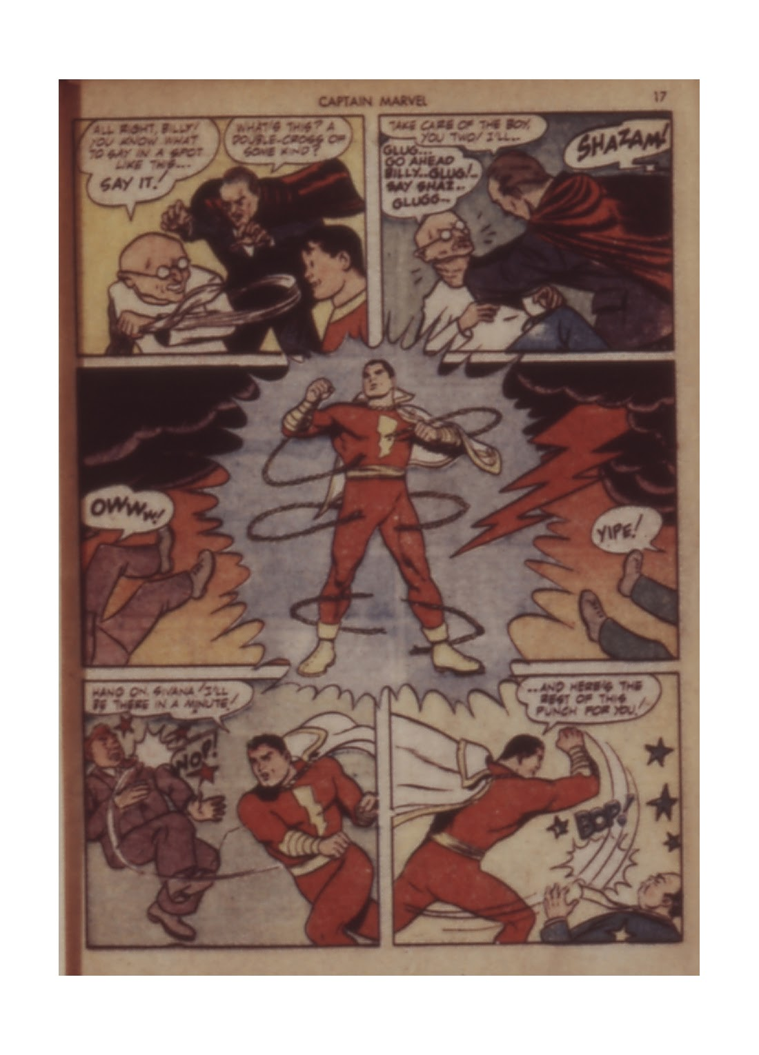 Captain Marvel Adventures issue 11 - Page 17