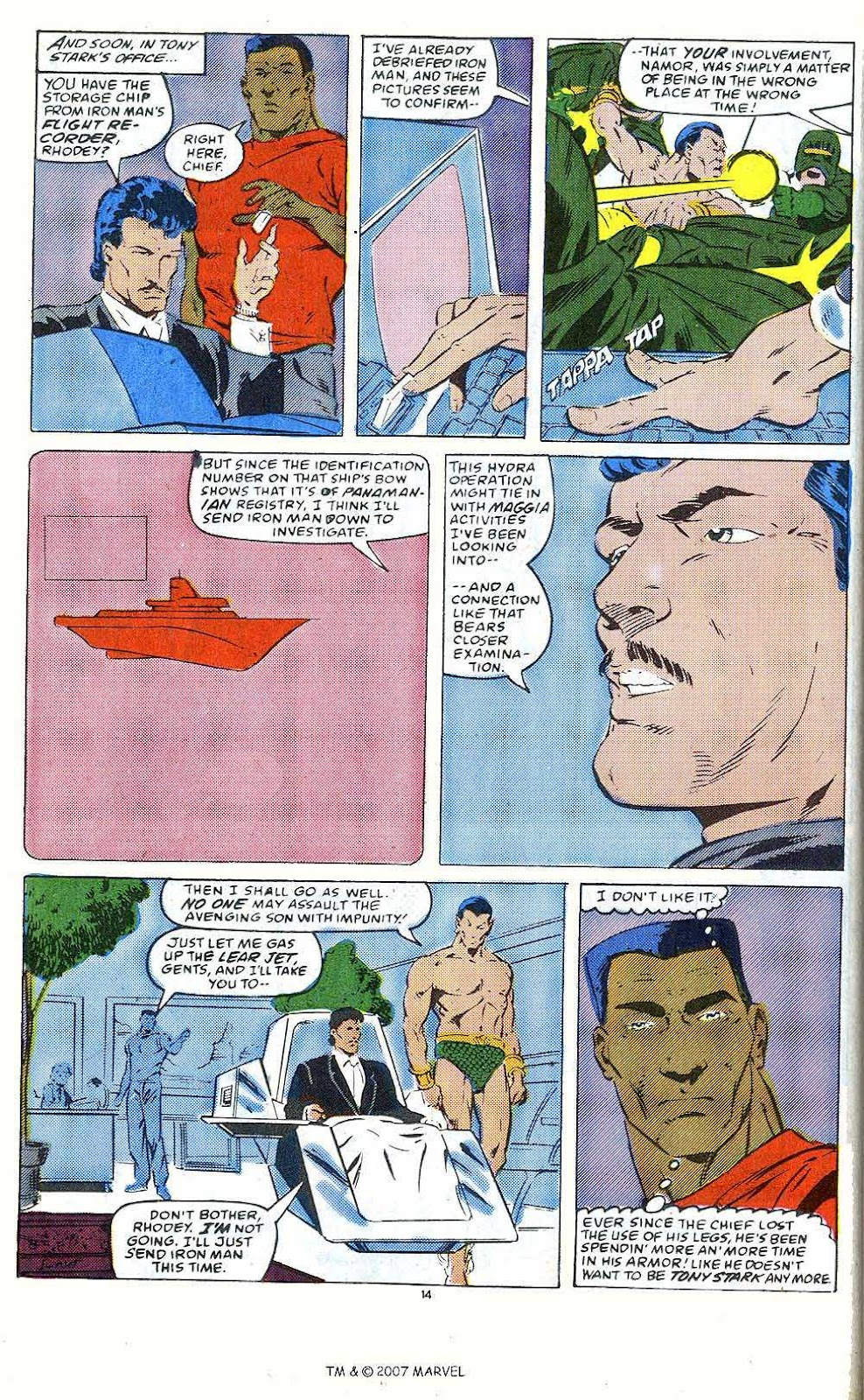 Iron Man Annual issue 10 - Page 16
