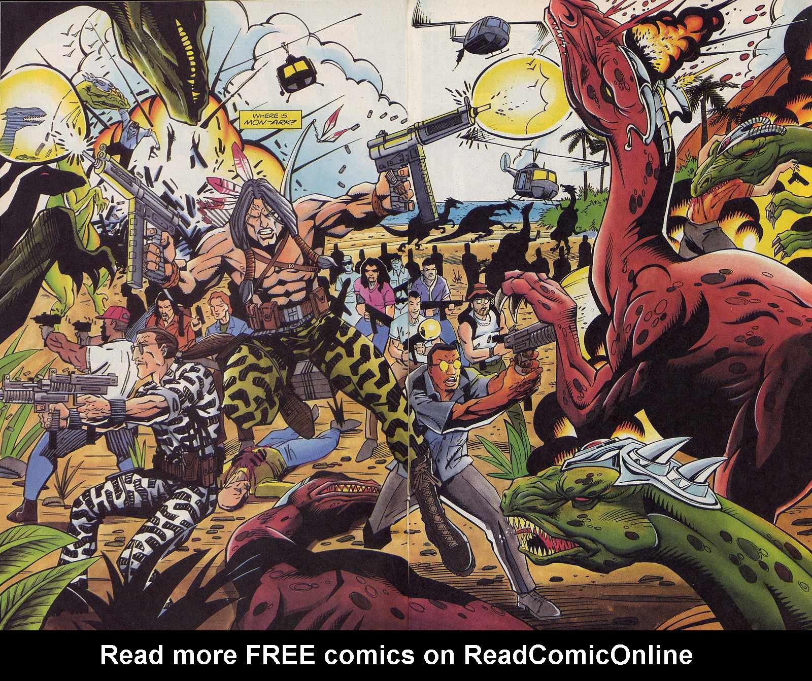 Read online Turok, Dinosaur Hunter (1993) comic -  Issue #3 - 14