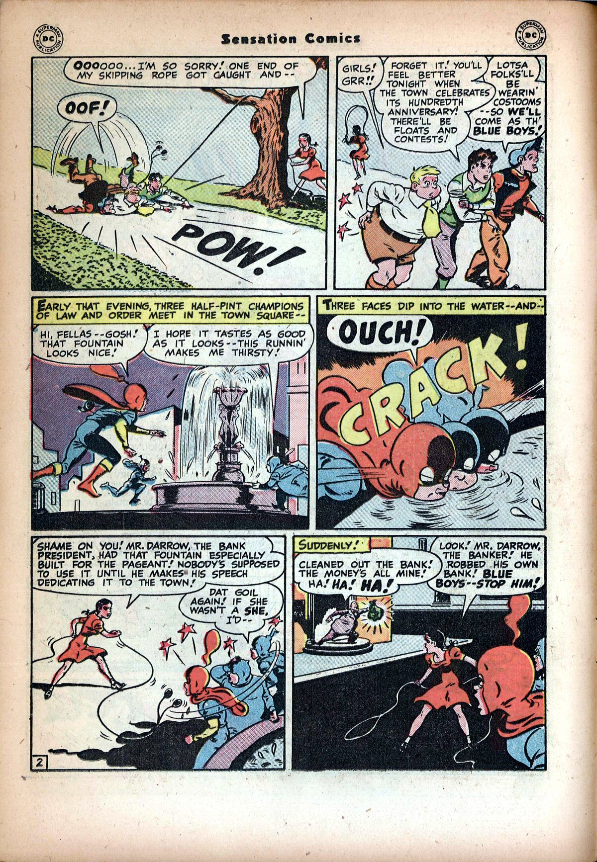 Read online Sensation (Mystery) Comics comic -  Issue #72 - 18
