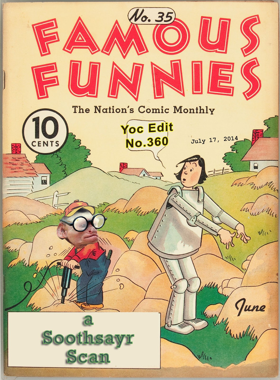 Read online Famous Funnies comic -  Issue #35 - 65