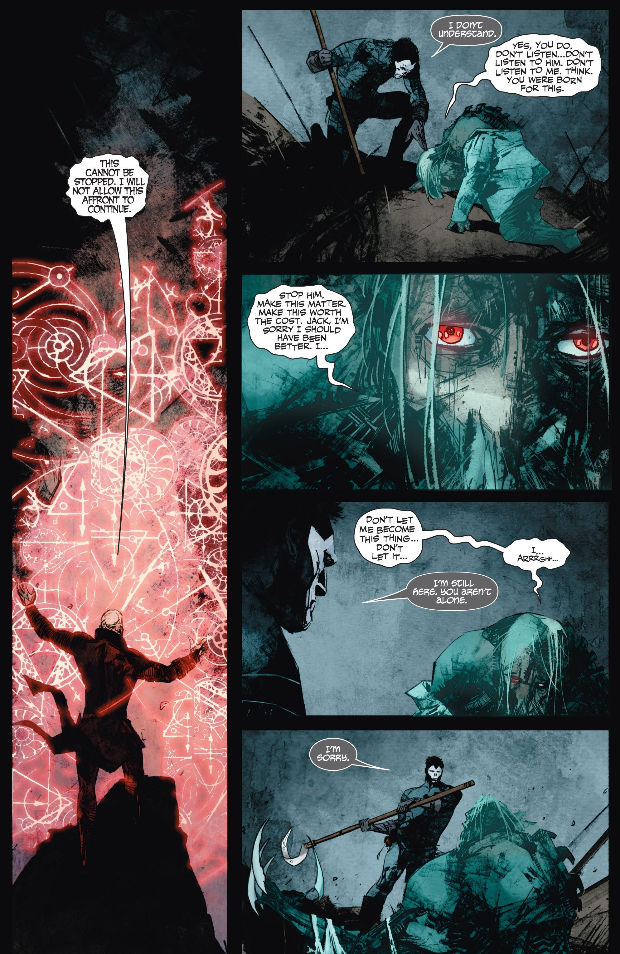 Read online Shadowman (2012) comic -  Issue #9 - 19