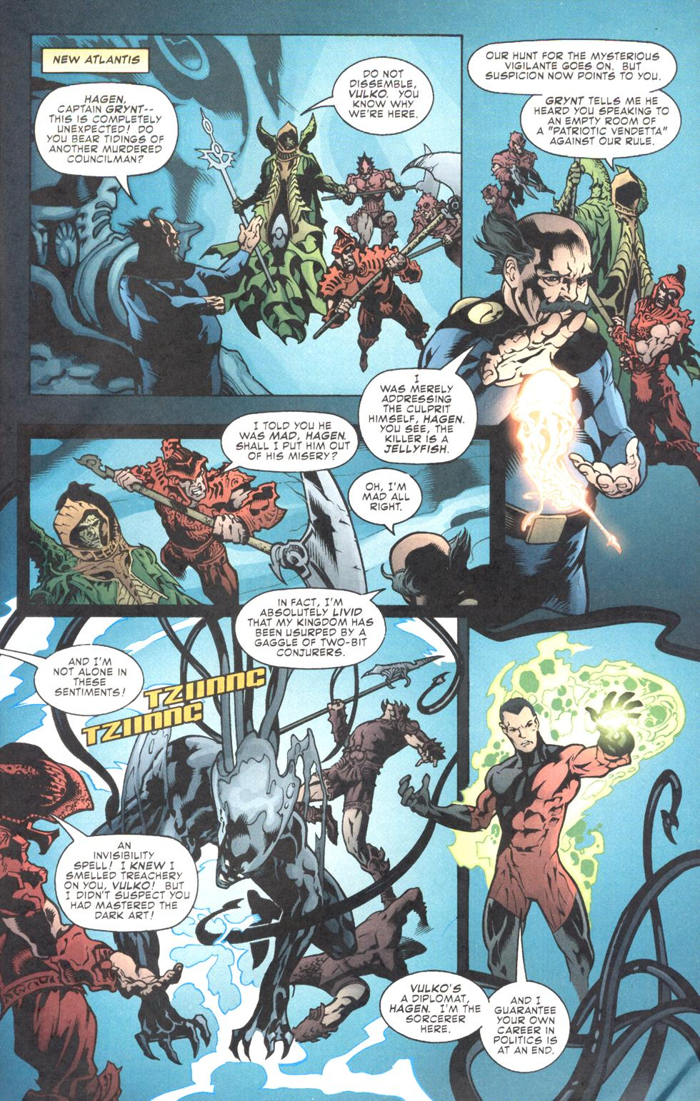 Read online Aquaman (2003) comic -  Issue #11 - 23