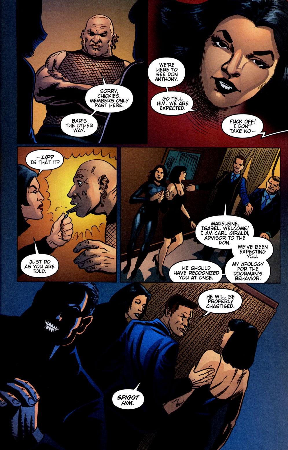 Read online Vampire the Masquerade comic -  Issue # Giovanni - 21